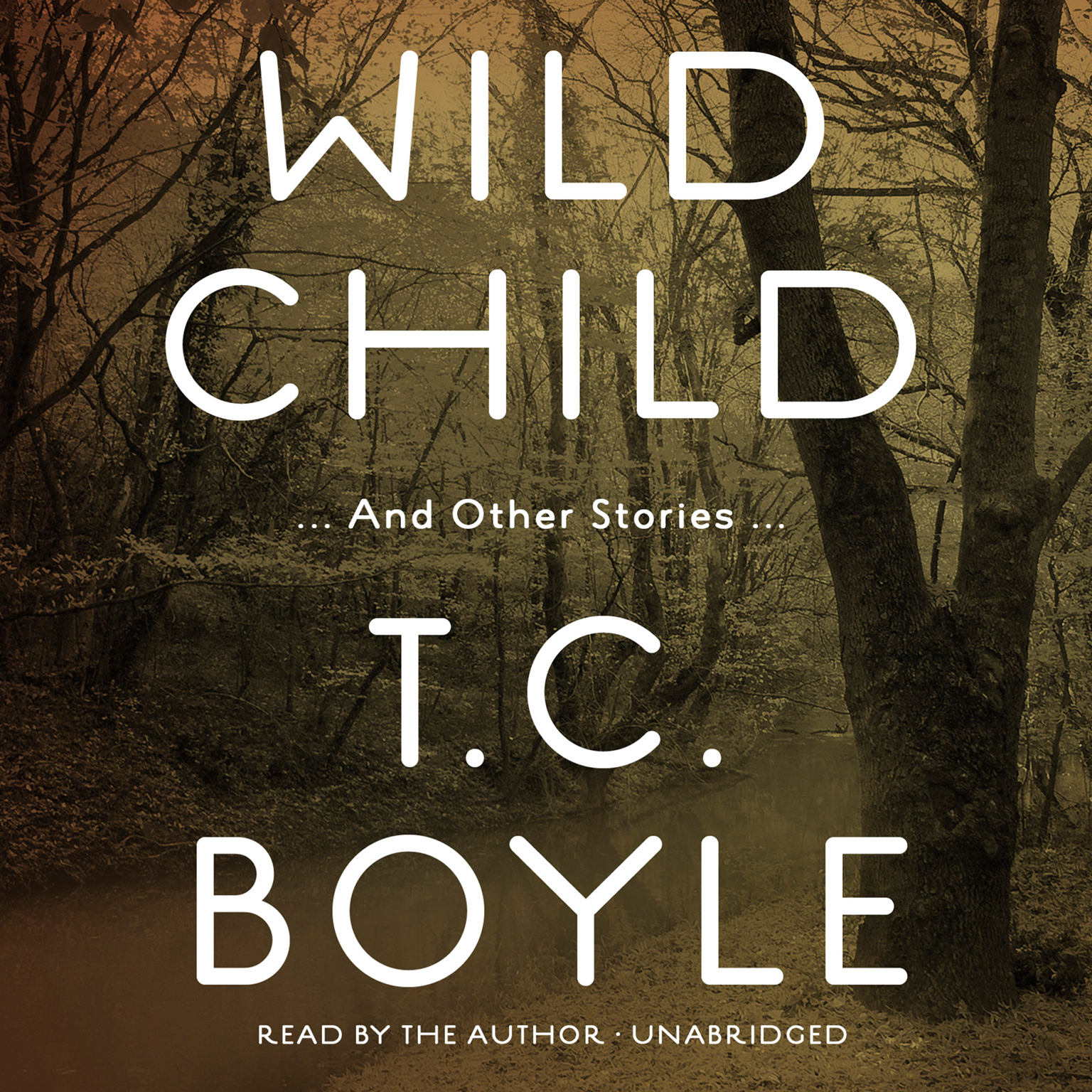 Printable Wild Child, and Other Stories Audiobook Cover Art