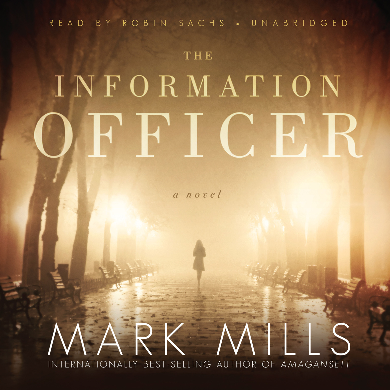 Printable The Information Officer: A Novel Audiobook Cover Art