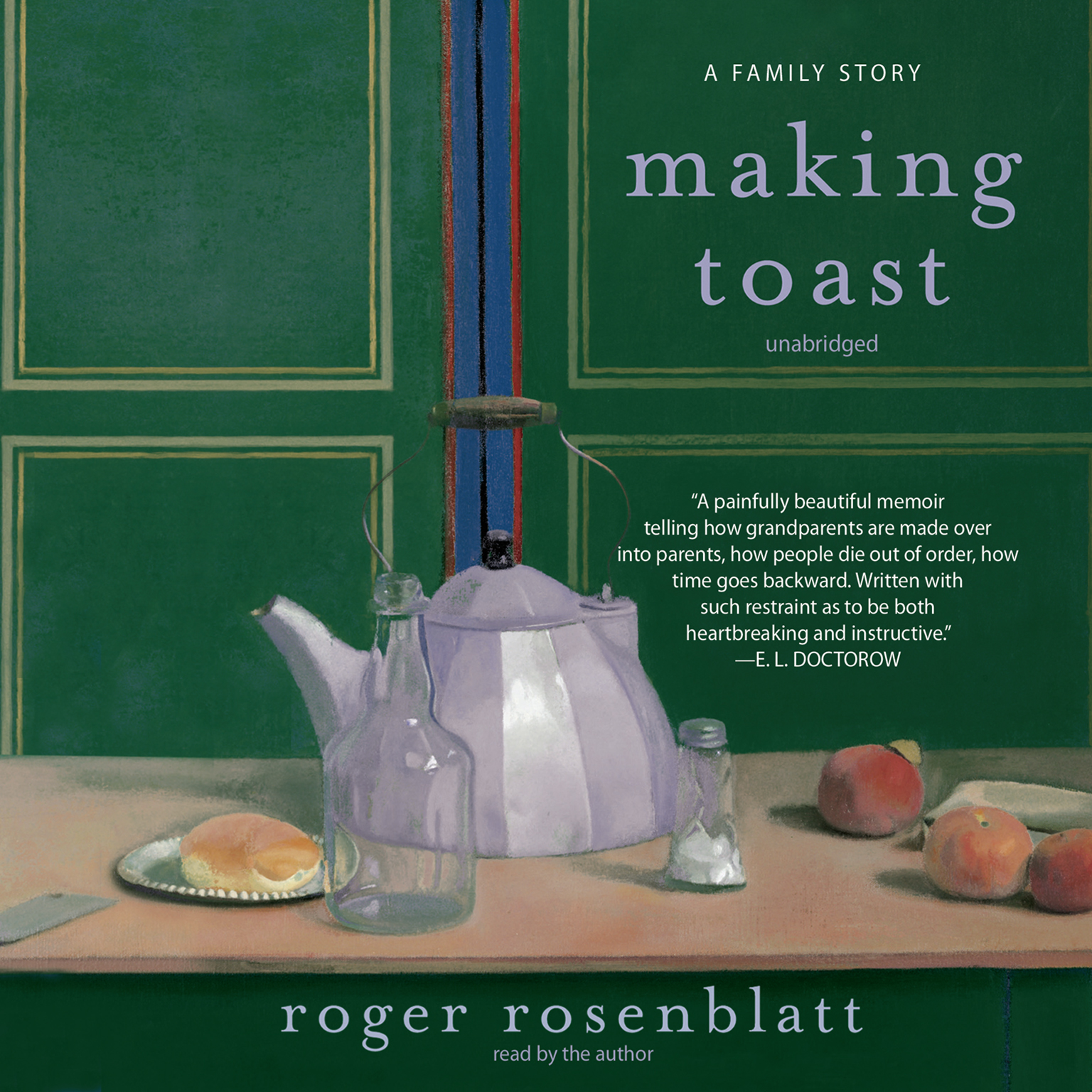 Printable Making Toast: A Family Story Audiobook Cover Art