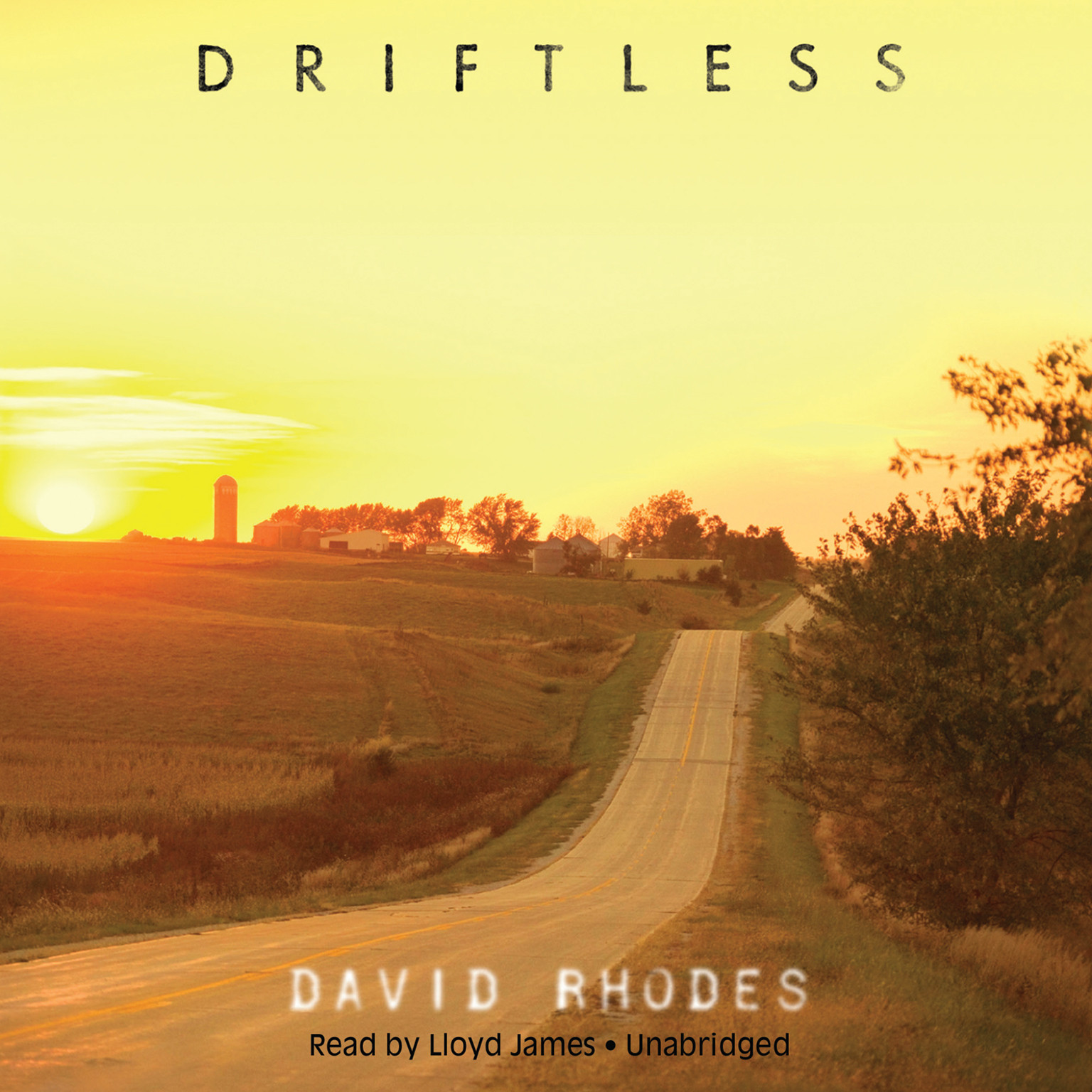 Printable Driftless Audiobook Cover Art