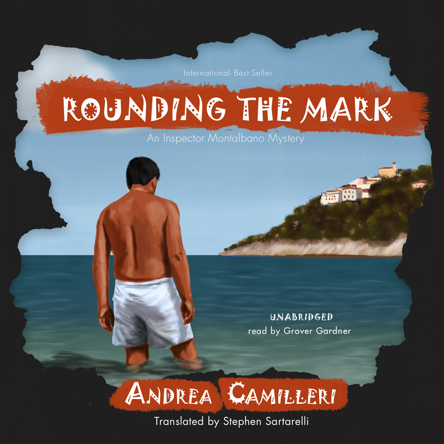 Printable Rounding the Mark: An Inspector Montalbano Mystery Audiobook Cover Art