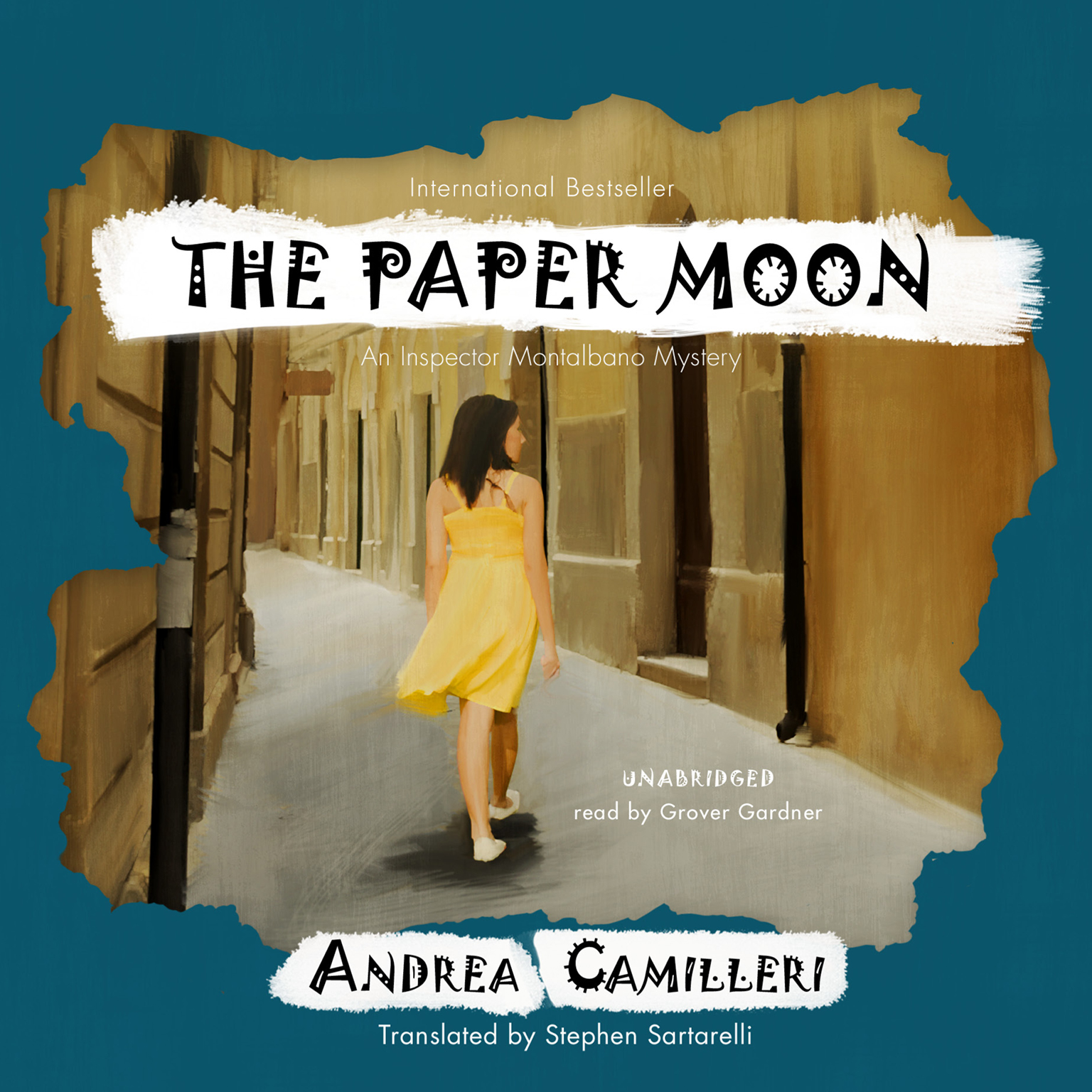 Printable The Paper Moon: An Inspector Montalbano Mystery Audiobook Cover Art