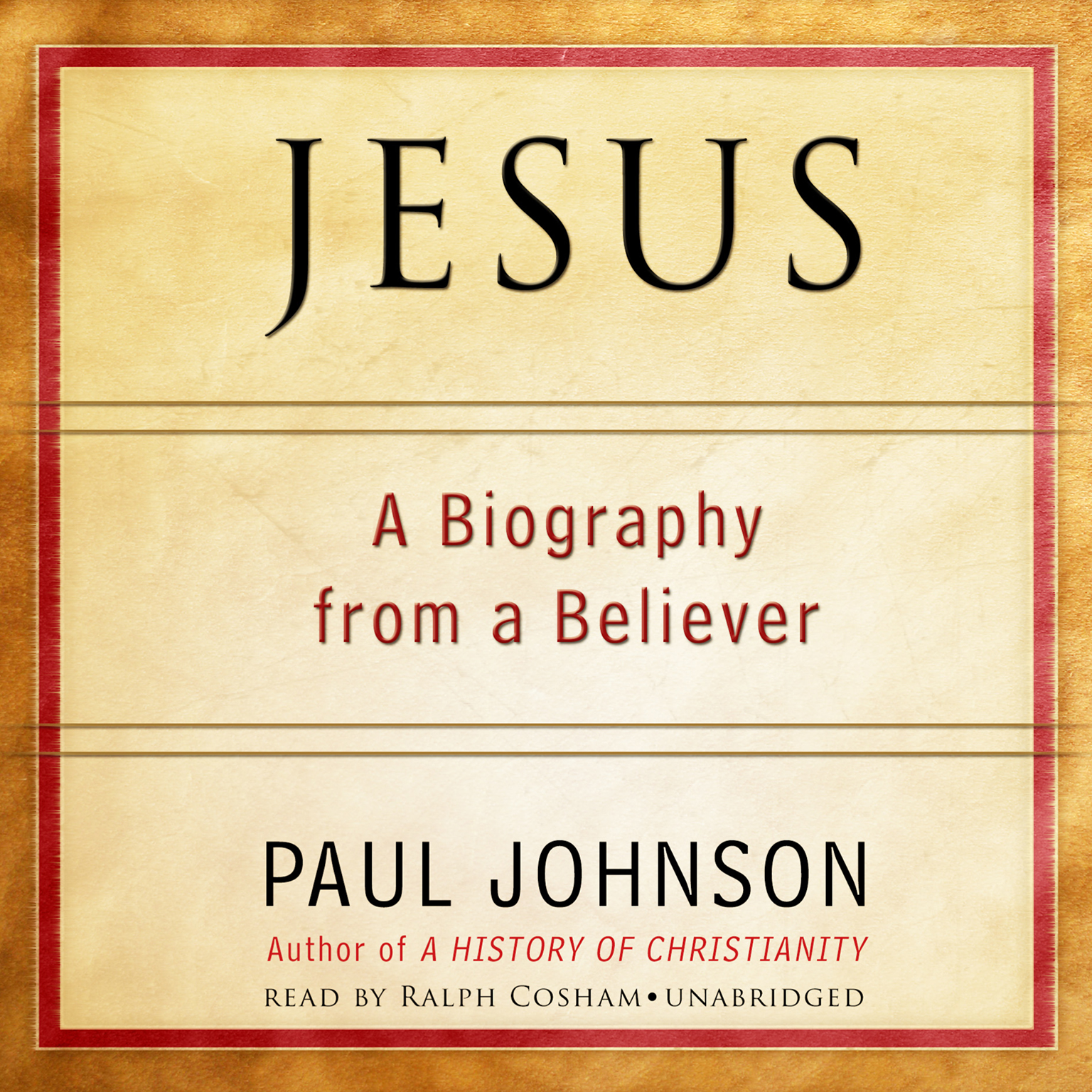 Printable Jesus: A Biography from a Believer Audiobook Cover Art