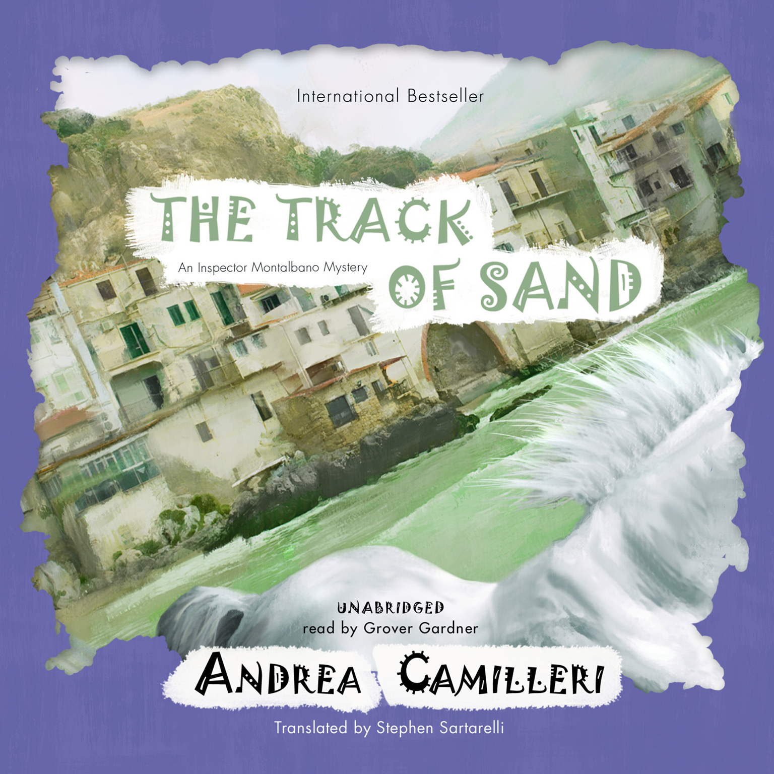 Printable The Track of Sand: An Inspector Montalbano Mystery Audiobook Cover Art
