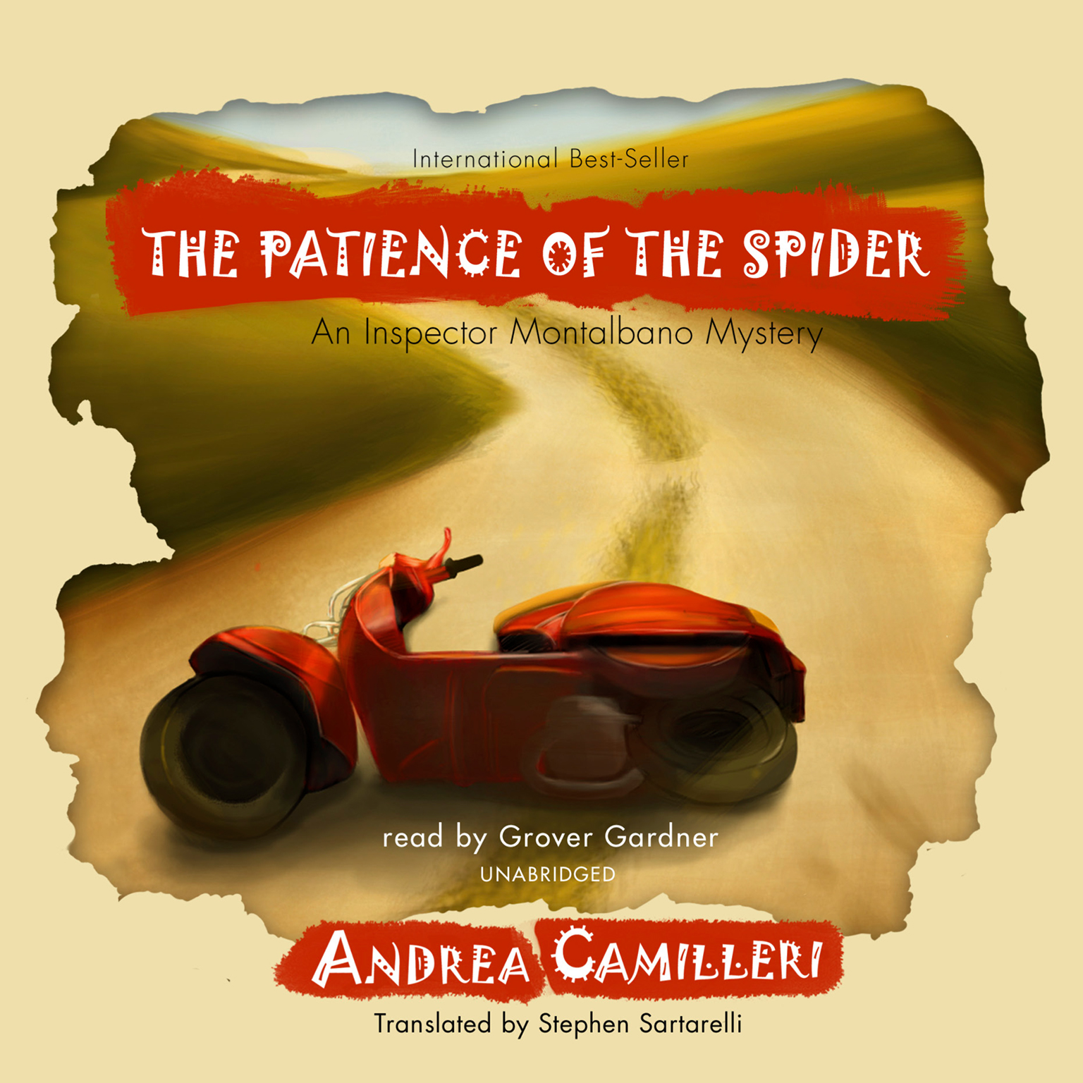 Printable The Patience of the Spider: An Inspector Montalbano Mystery Audiobook Cover Art
