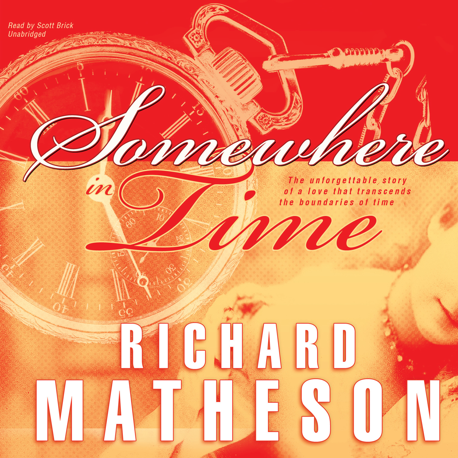 Printable Somewhere in Time Audiobook Cover Art