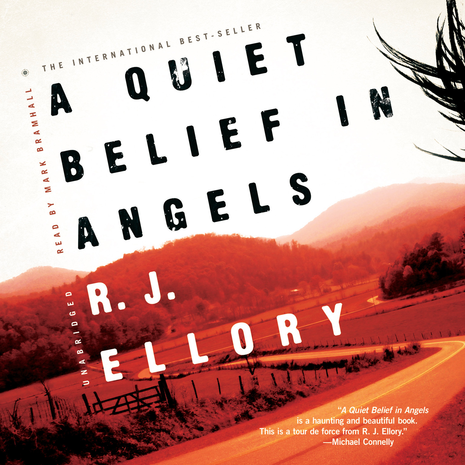 Printable A Quiet Belief in Angels Audiobook Cover Art