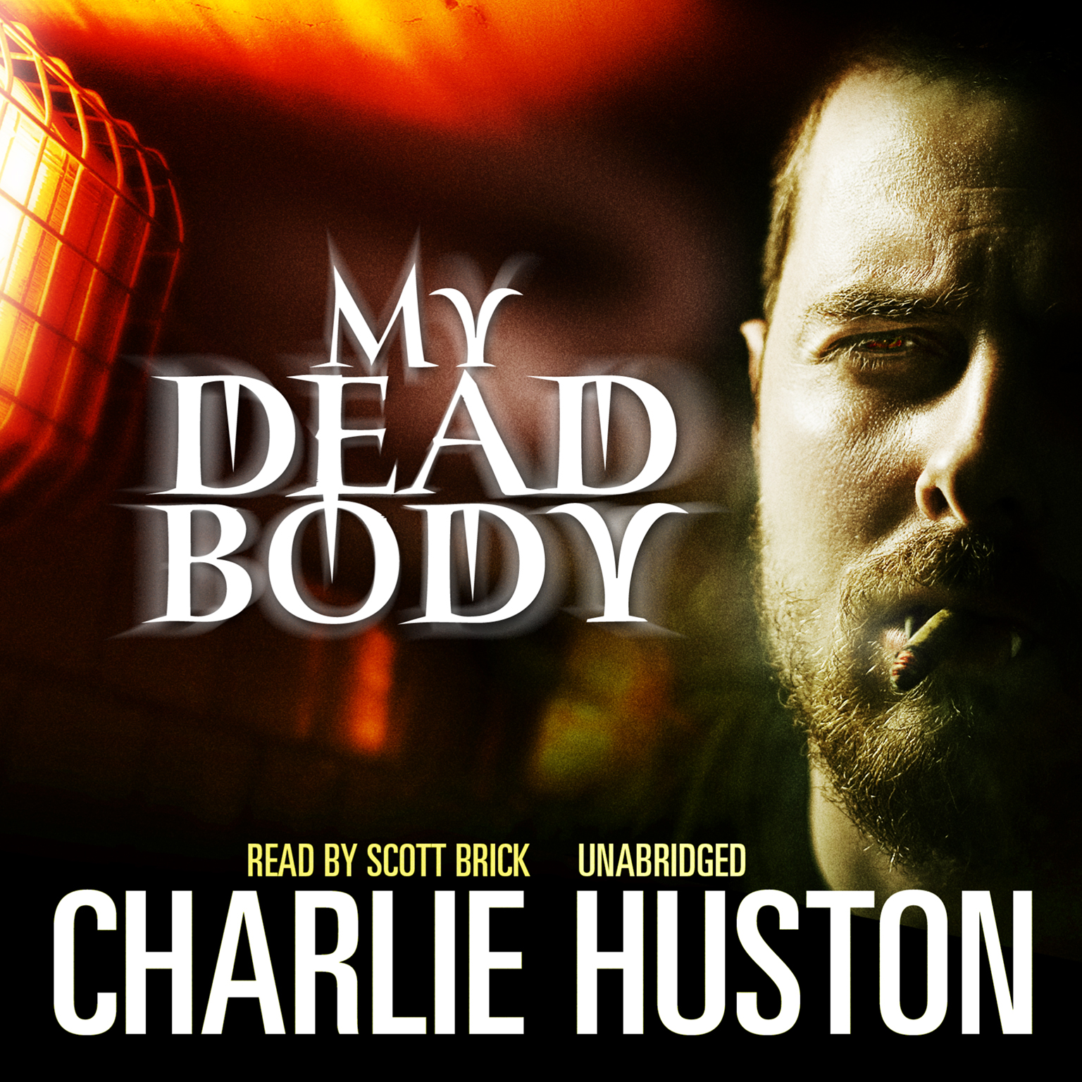 Printable My Dead Body Audiobook Cover Art