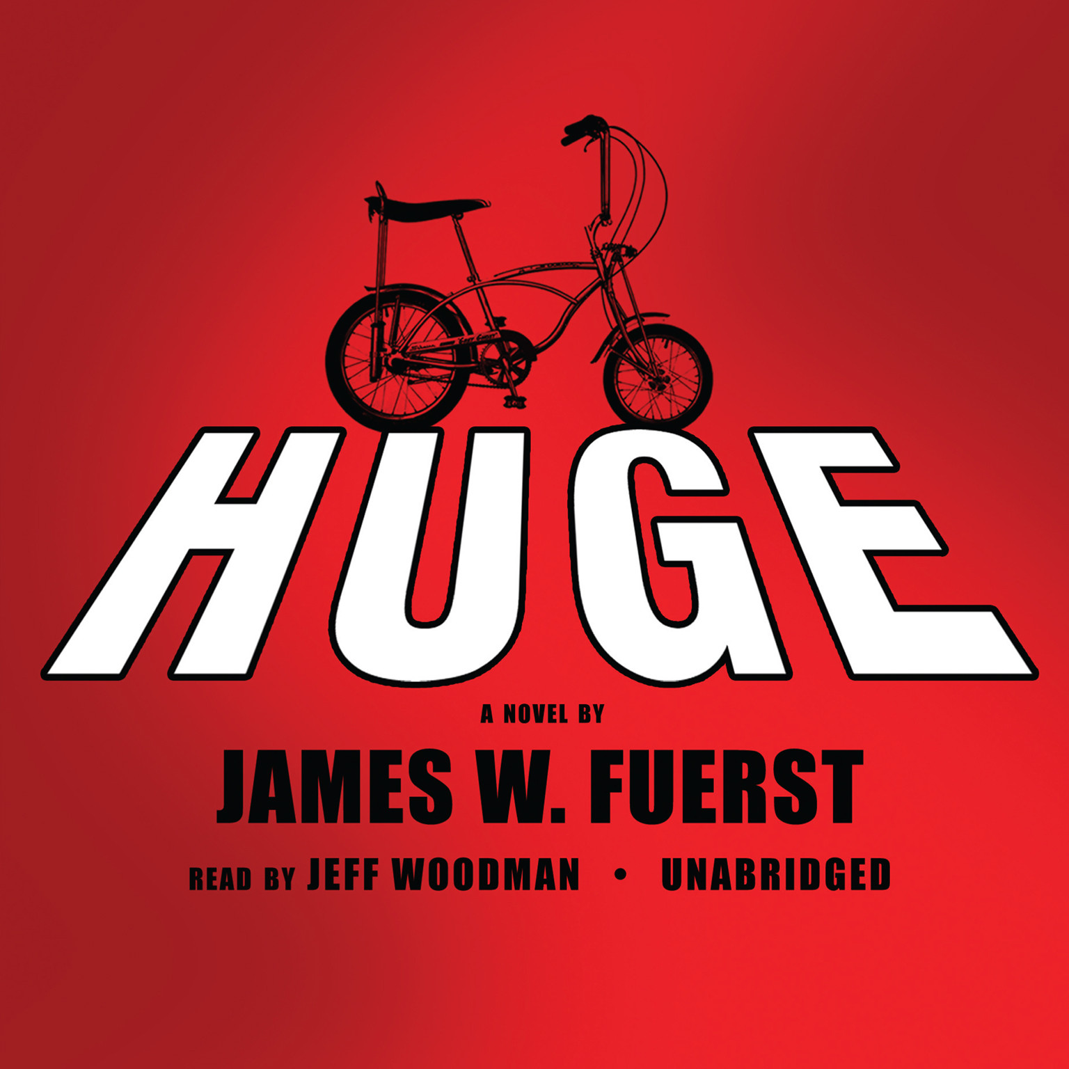 Printable Huge: A Novel Audiobook Cover Art