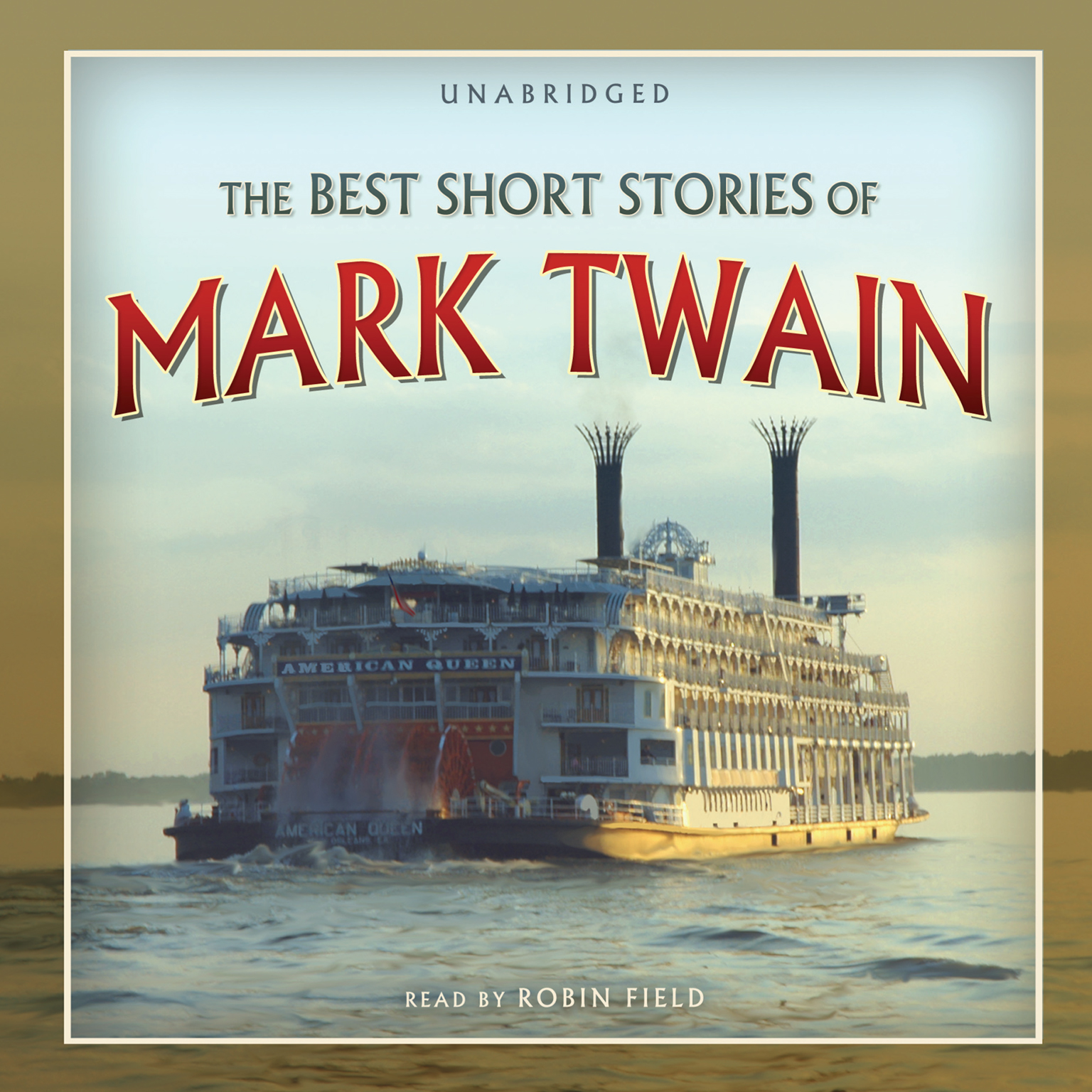 Printable The Best Short Stories of Mark Twain Audiobook Cover Art