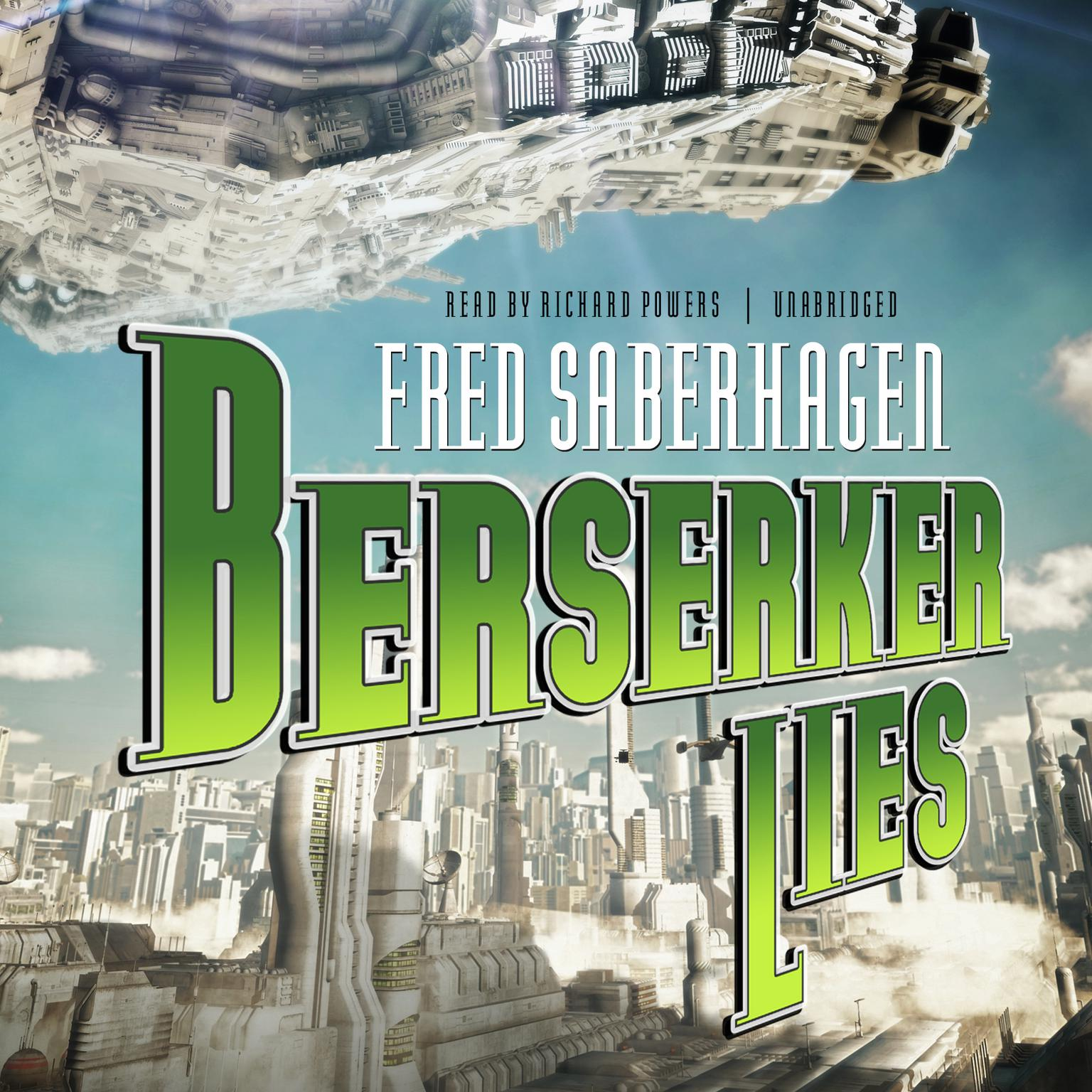Printable Berserker Lies Audiobook Cover Art