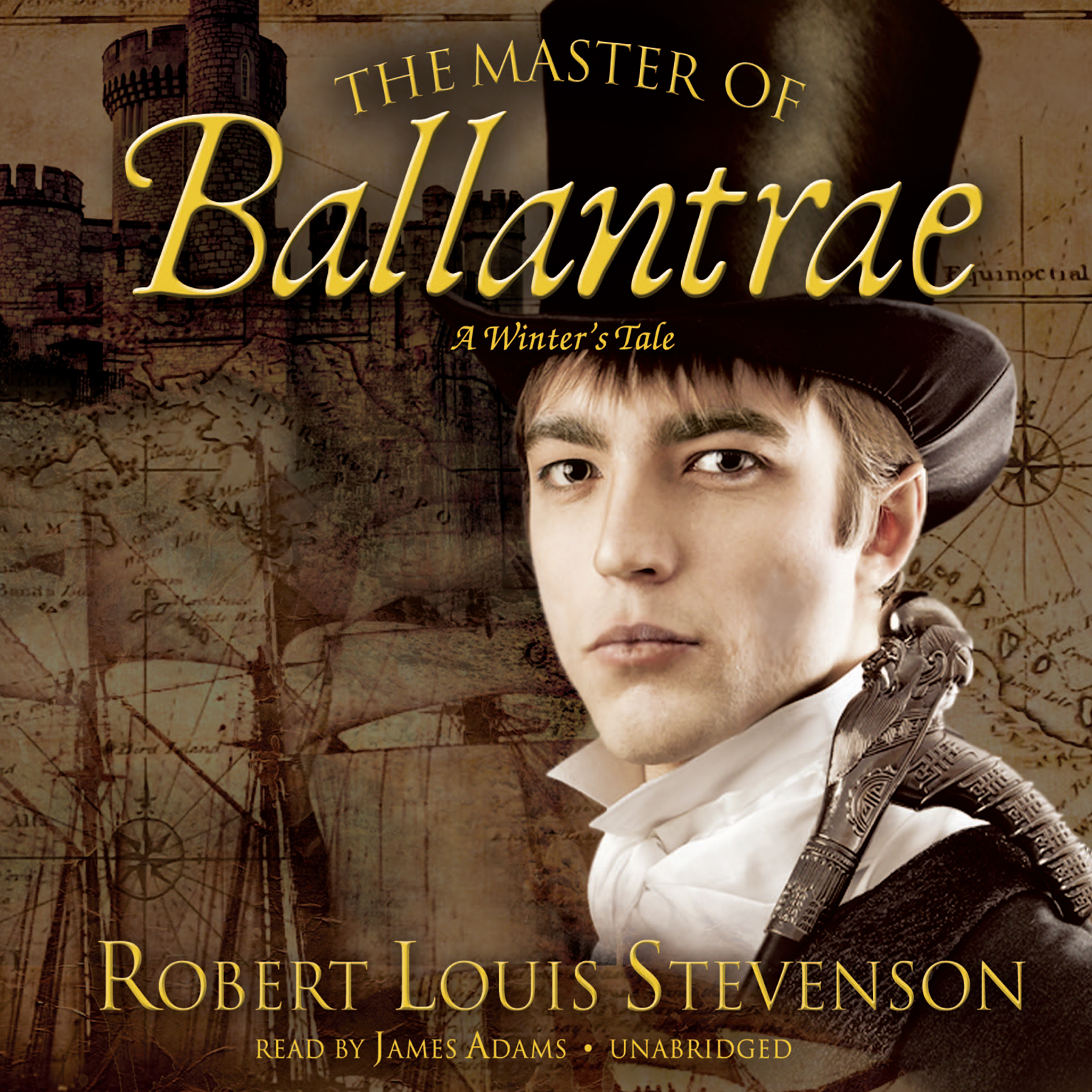 Printable The Master of Ballantrae: A Winter's Tale Audiobook Cover Art