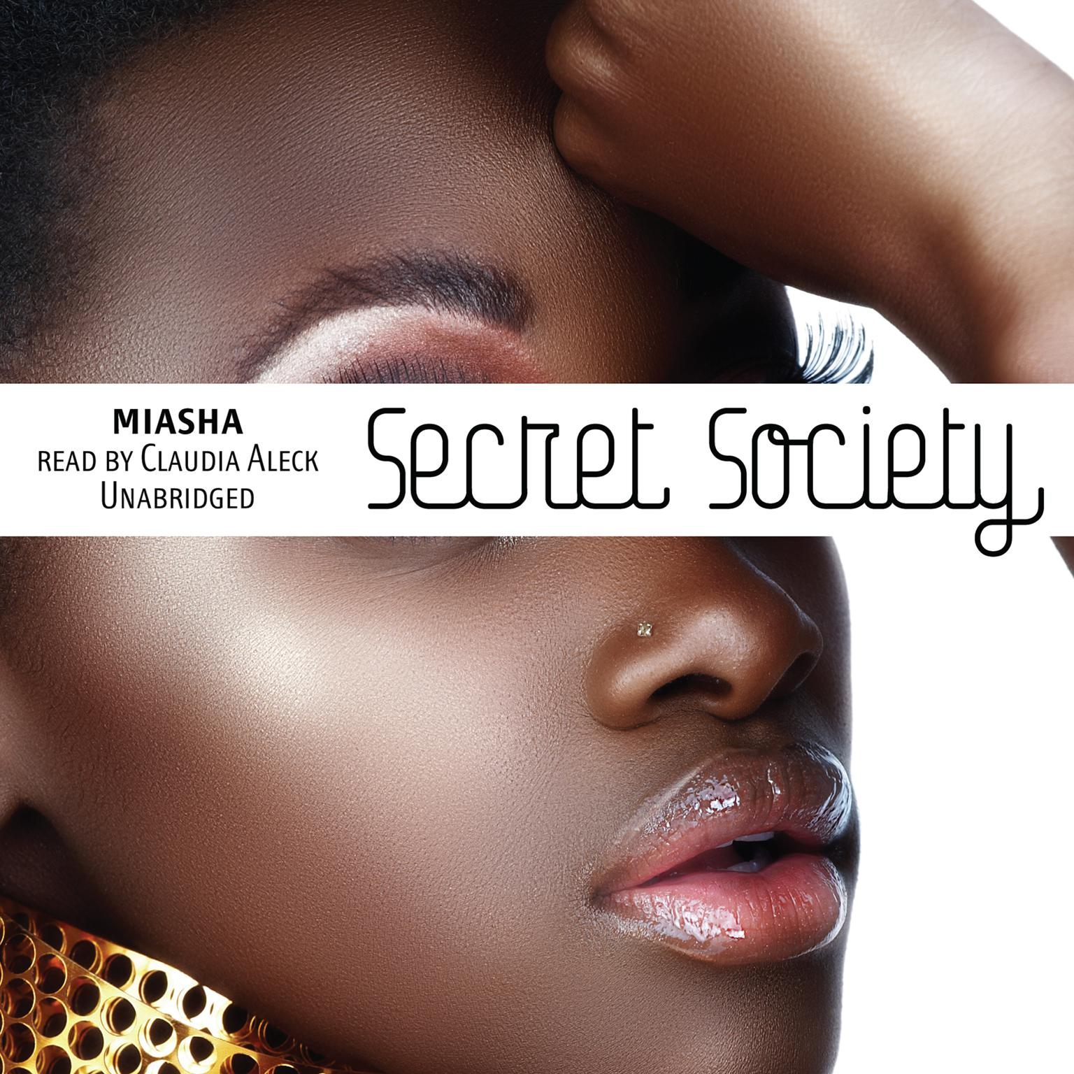 Printable Secret Society Audiobook Cover Art