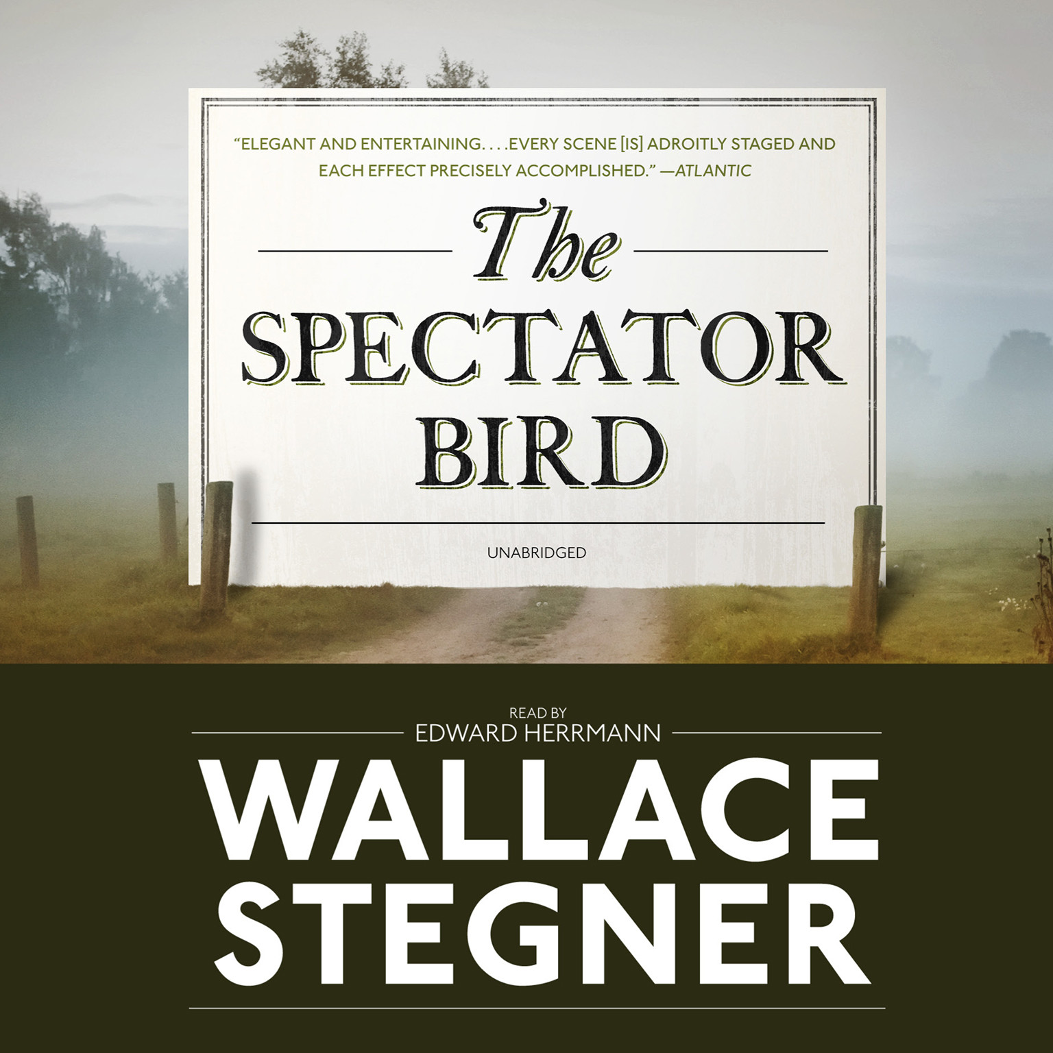 Printable The Spectator Bird Audiobook Cover Art
