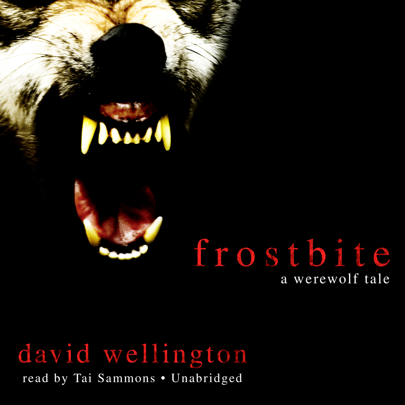 Printable Frostbite: A Werewolf Tale Audiobook Cover Art