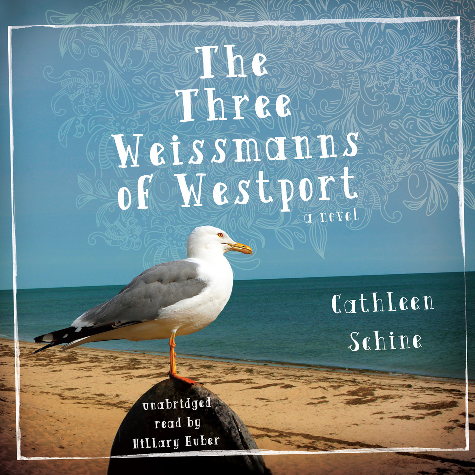 Printable The Three Weissmanns of Westport Audiobook Cover Art