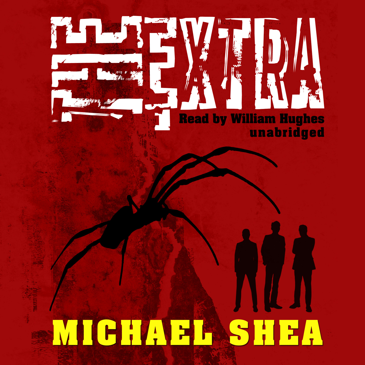 Printable The Extra Audiobook Cover Art