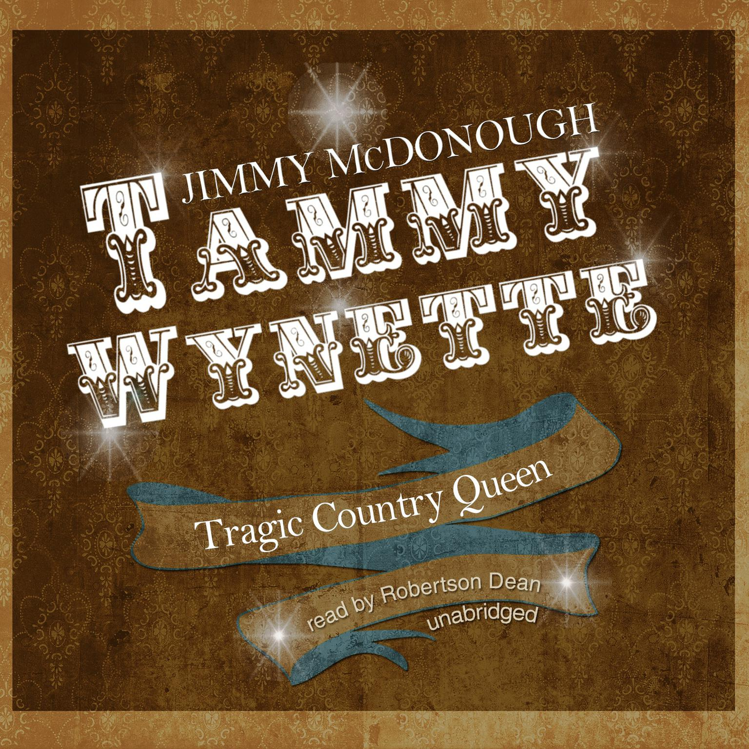 Printable Tammy Wynette: Tragic Country Queen Audiobook Cover Art