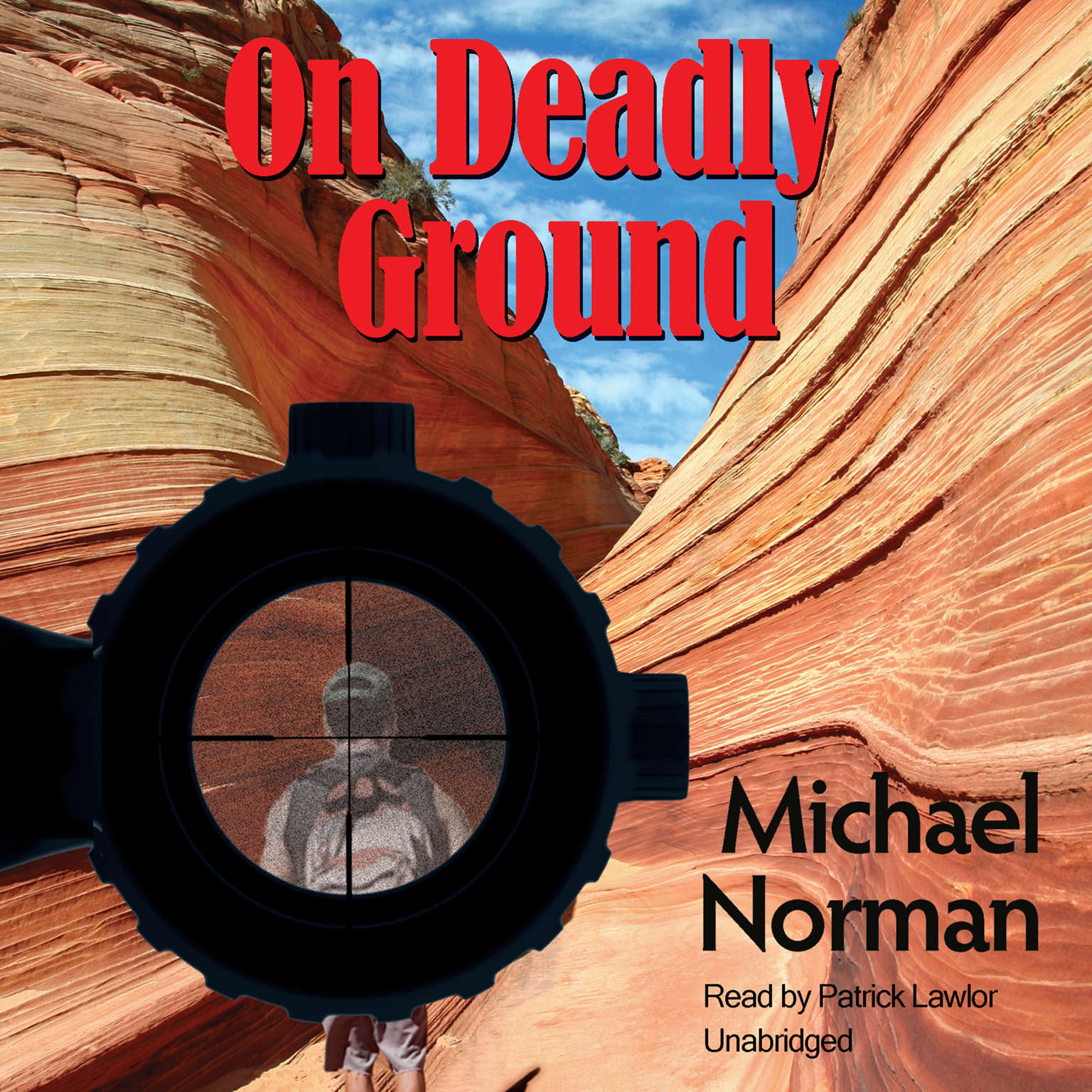 Printable On Deadly Ground Audiobook Cover Art