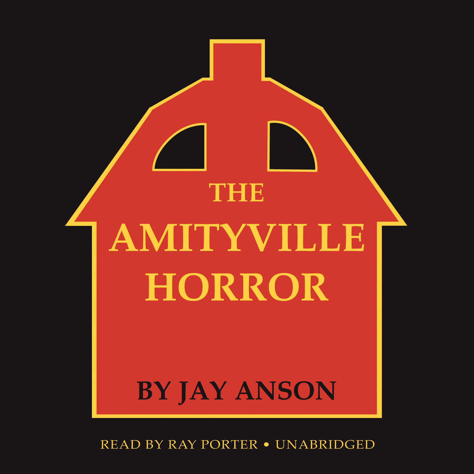 Printable The Amityville Horror Audiobook Cover Art