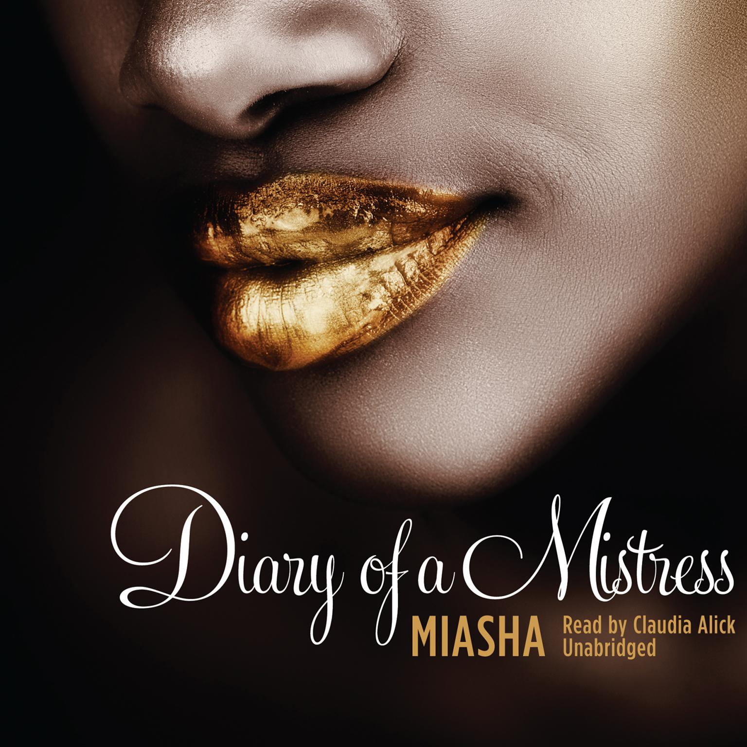 Printable Diary of a Mistress Audiobook Cover Art