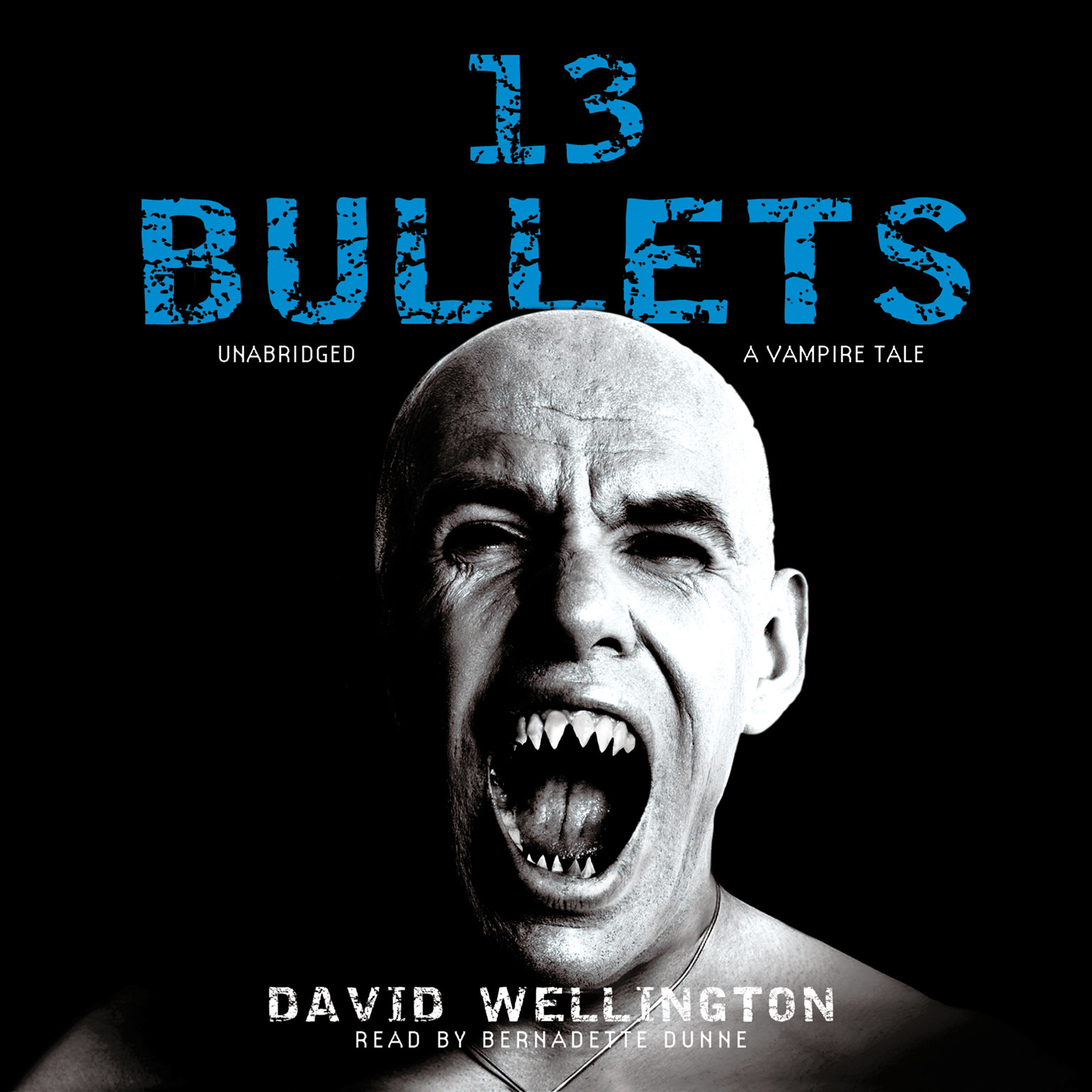 Printable 13 Bullets: A Vampire Tale Audiobook Cover Art