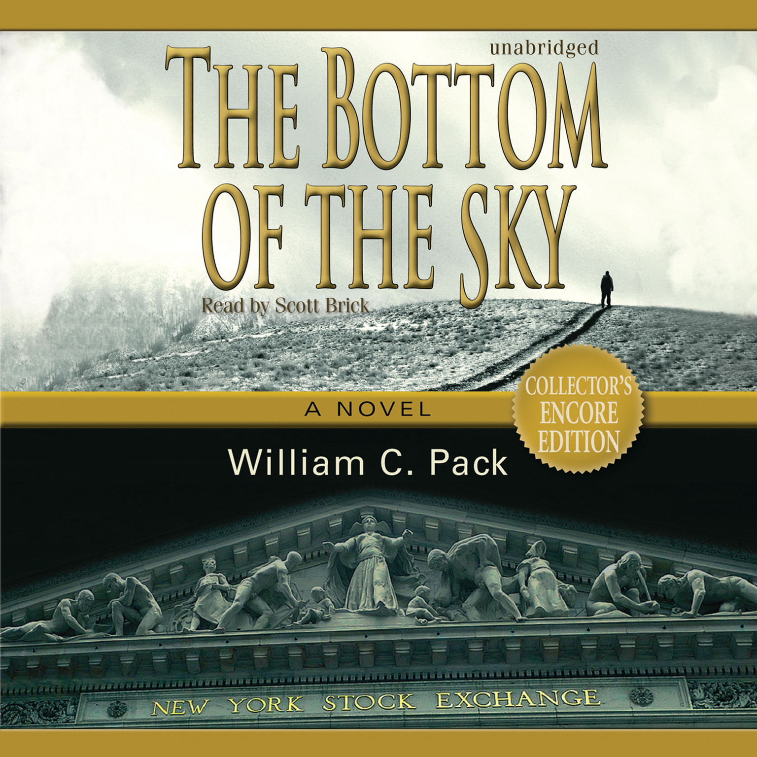 Printable The Bottom of the Sky: A Novel Audiobook Cover Art