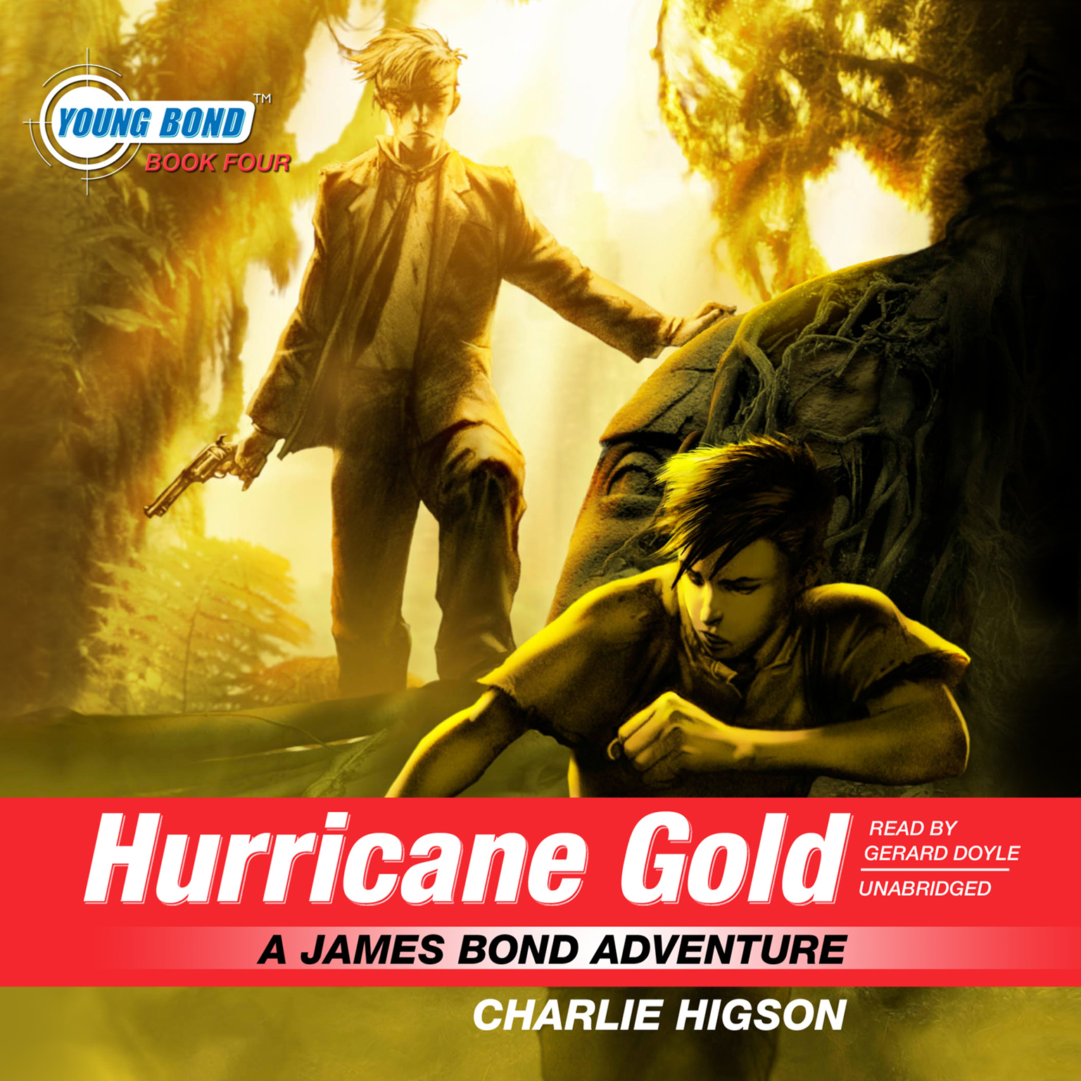 Printable Hurricane Gold: A James Bond Adventure Audiobook Cover Art