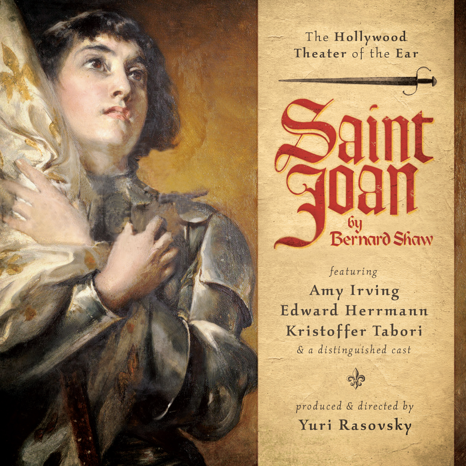 Printable Saint Joan: A Chronicle Play in Six Scenes and an Epilogue Audiobook Cover Art