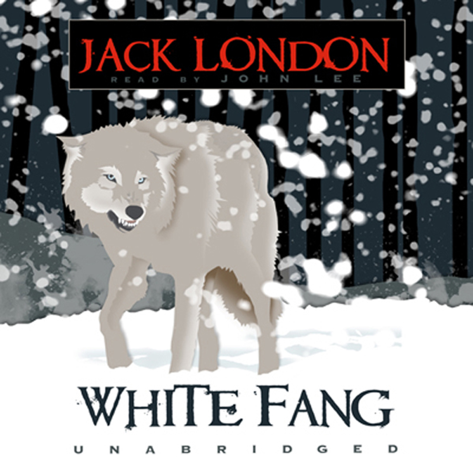 Printable White Fang Audiobook Cover Art