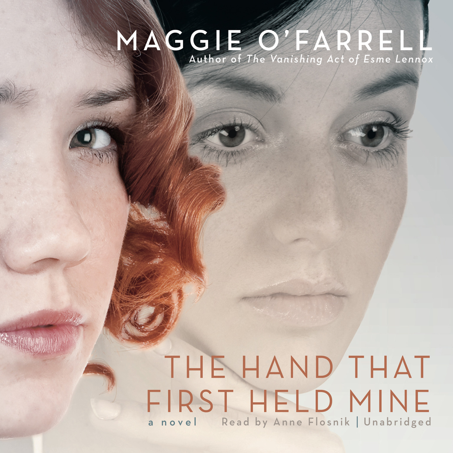 Printable The Hand That First Held Mine Audiobook Cover Art