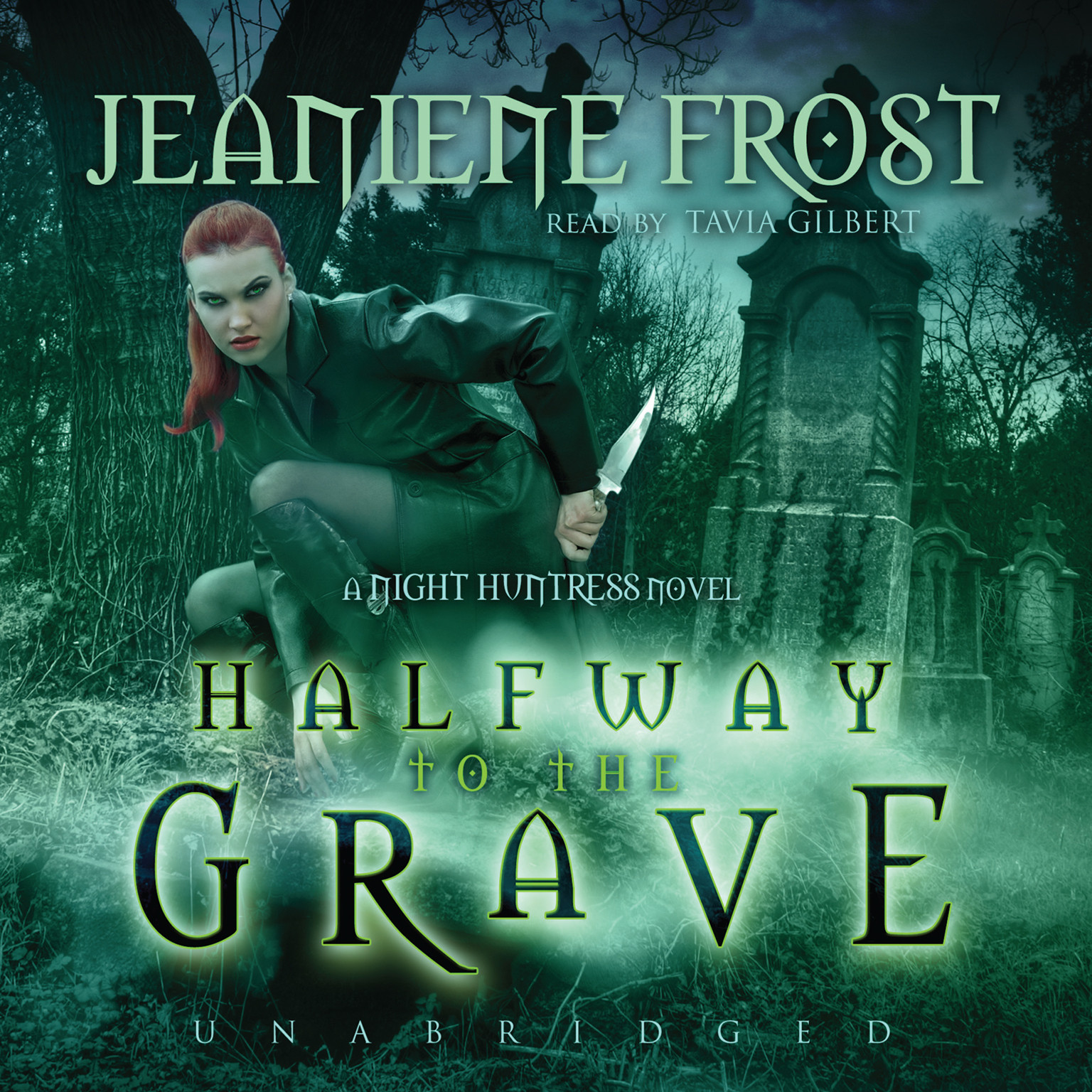 Printable Halfway to the Grave: A Night Huntress Novel Audiobook Cover Art