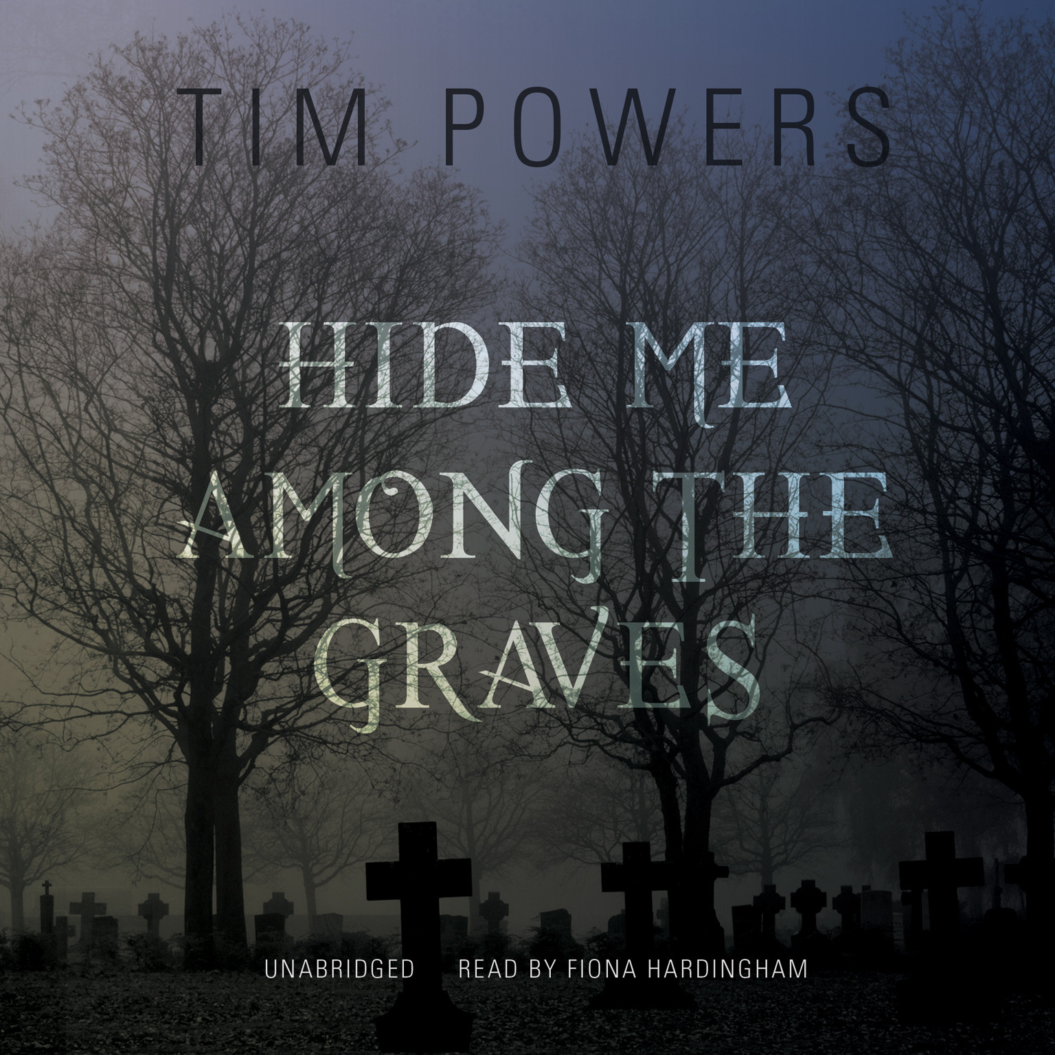 Printable Hide Me among the Graves Audiobook Cover Art