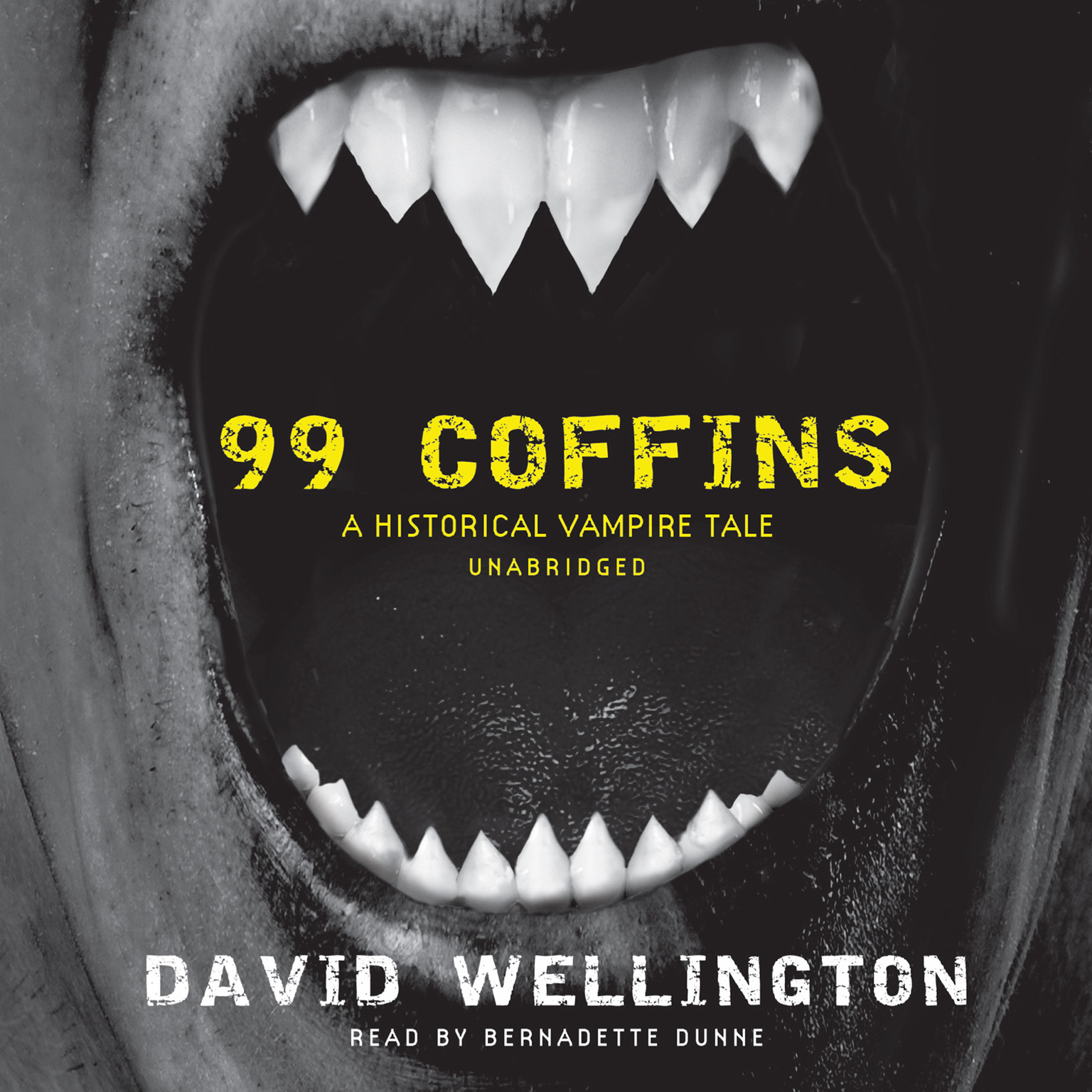 Printable 99 Coffins: A Historical Vampire Tale Audiobook Cover Art