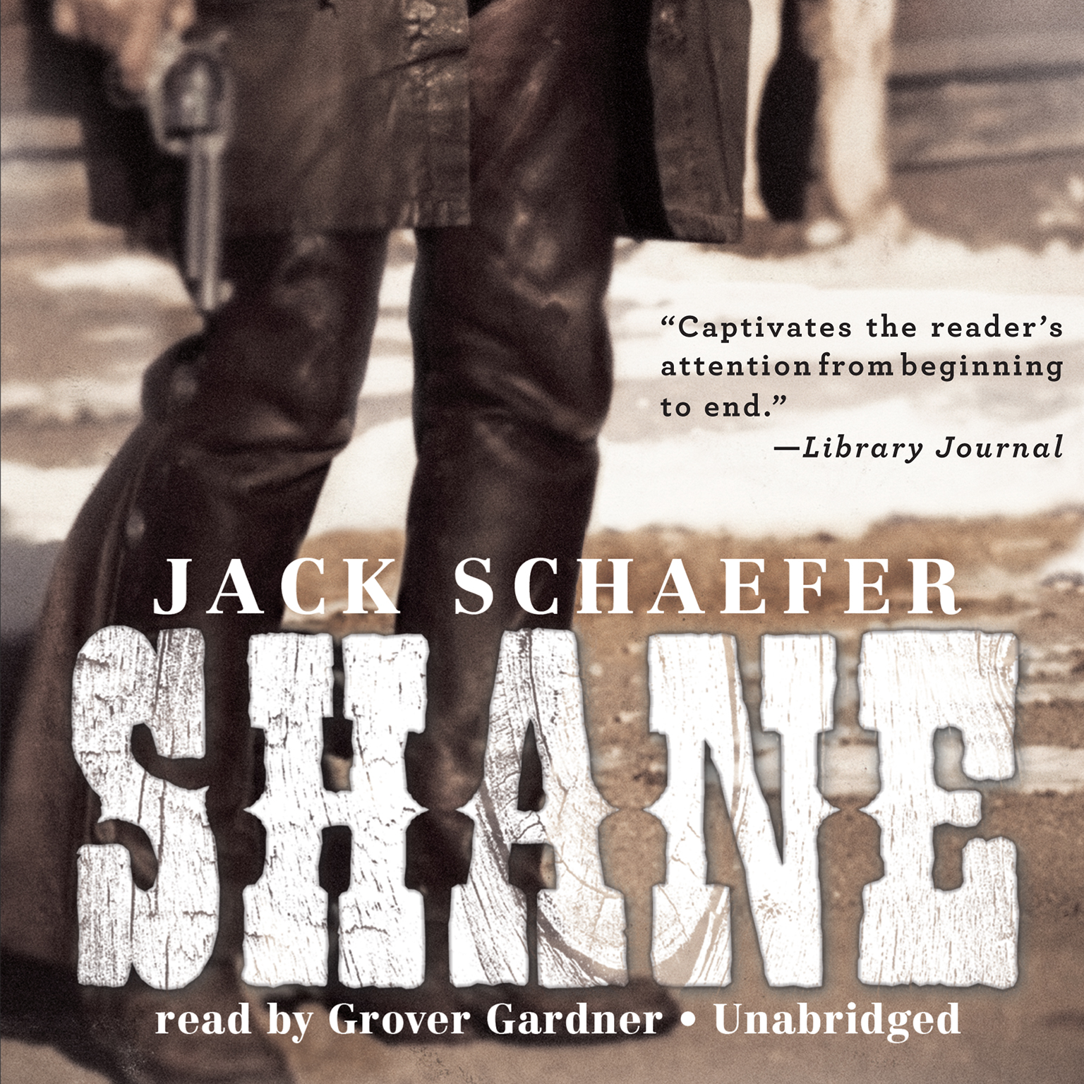 Printable Shane Audiobook Cover Art