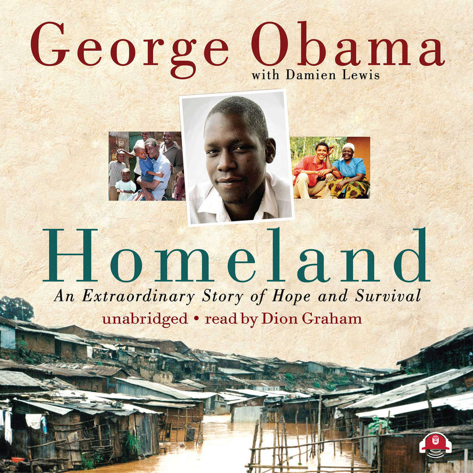 Printable Homeland: An Extraordinary Story of Hope and Survival Audiobook Cover Art