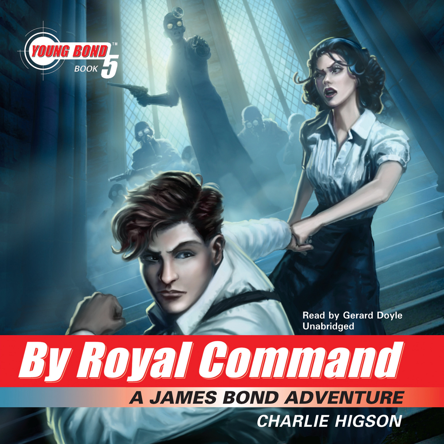 Printable By Royal Command: A James Bond Adventure Audiobook Cover Art