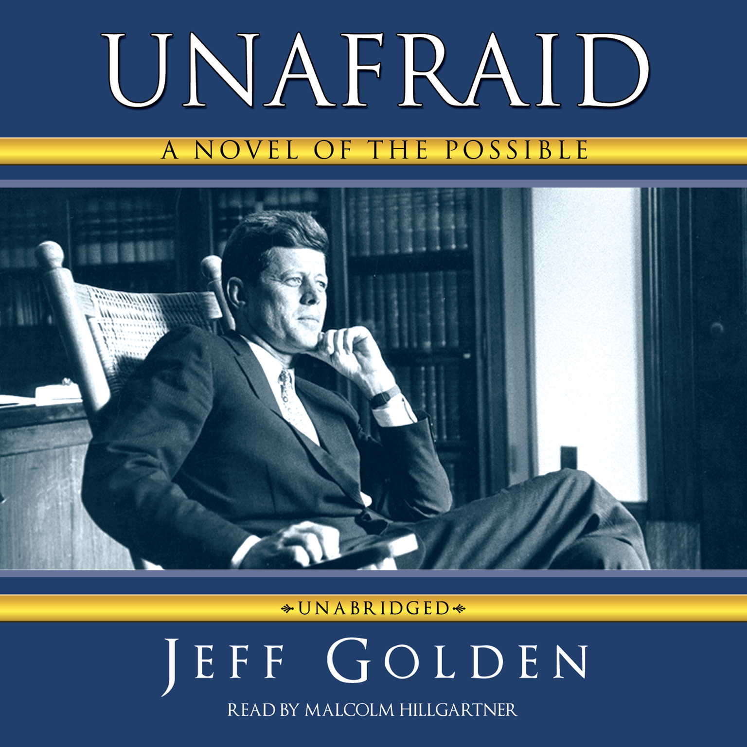 Printable Unafraid: A Novel of the Possible Audiobook Cover Art