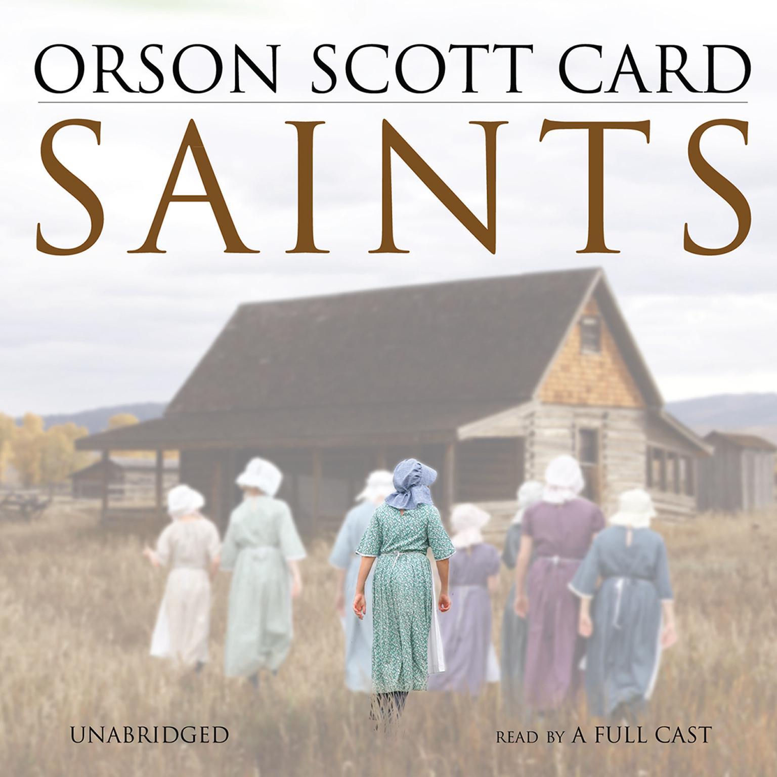 Printable Saints Audiobook Cover Art