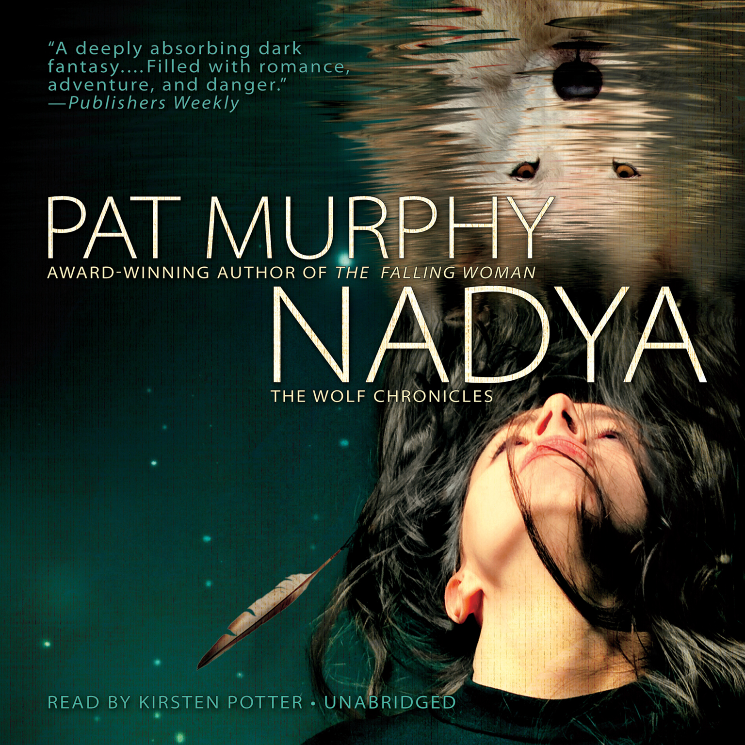 Printable Nadya: The Wolf Chronicles Audiobook Cover Art
