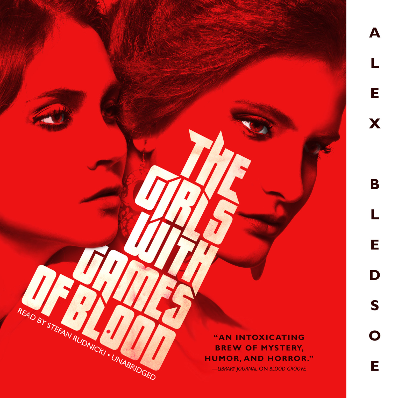 Printable The Girls with Games of Blood Audiobook Cover Art