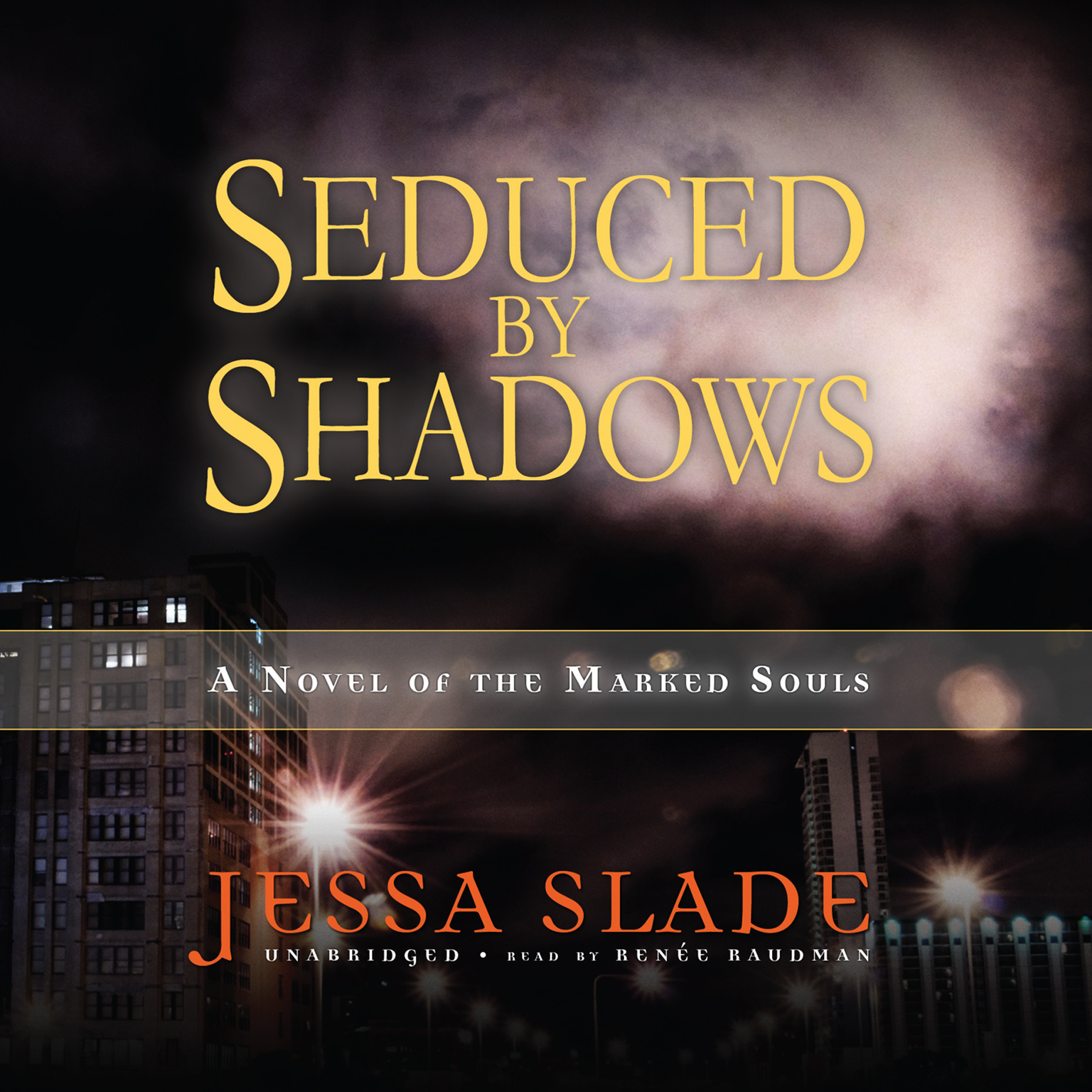 Printable Seduced by Shadows: A Novel of the Marked Souls Audiobook Cover Art