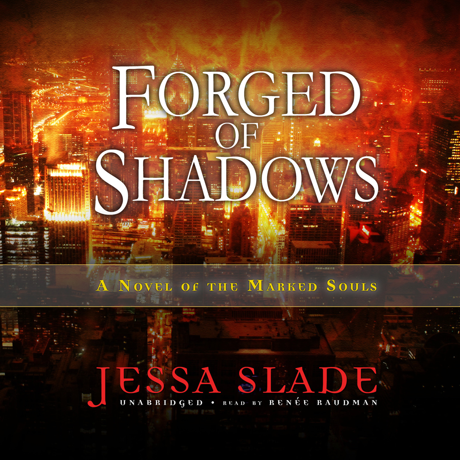 Printable Forged of Shadows: A Novel of the Marked Souls Audiobook Cover Art