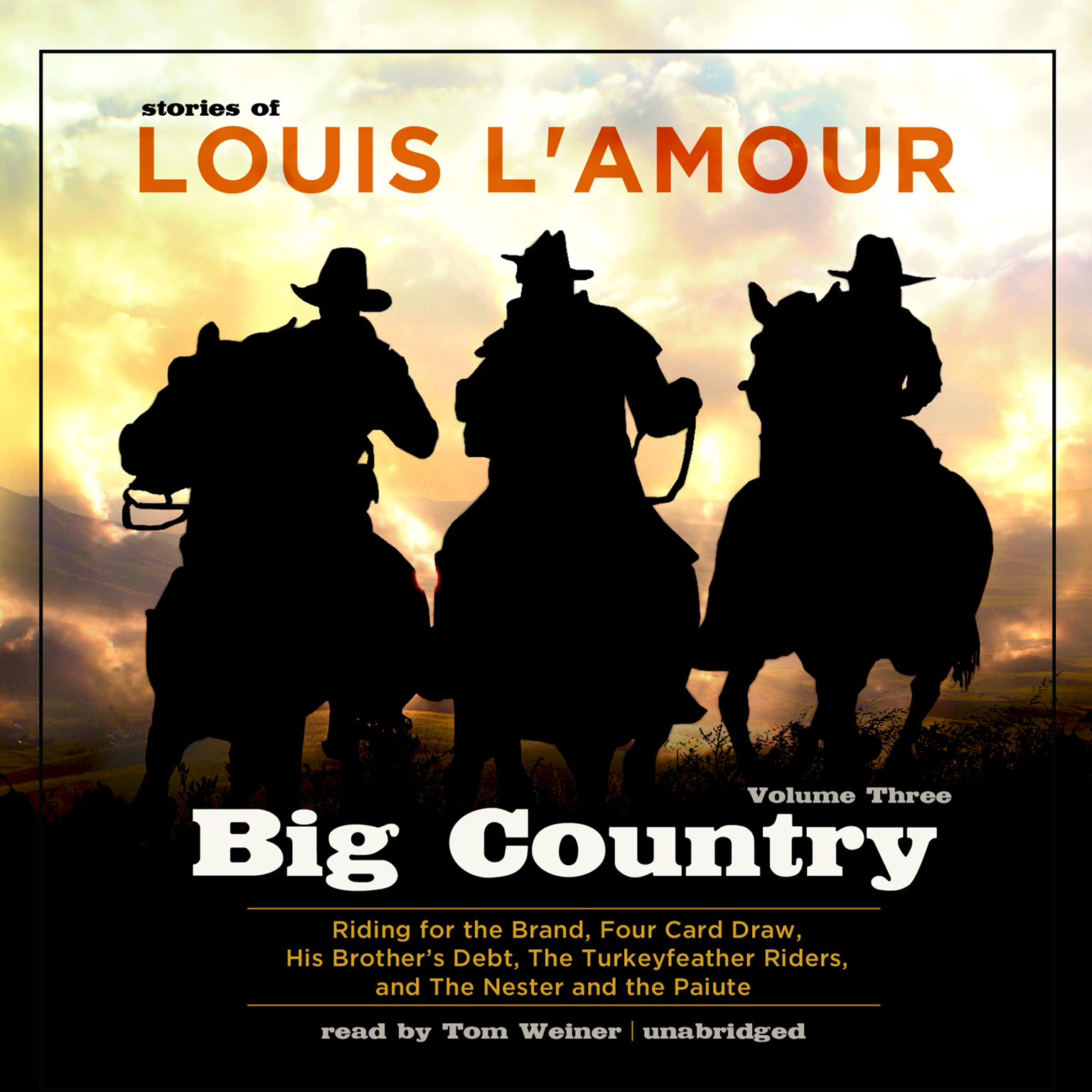 Printable Big Country, Vol. 3: Stories of Louis L'Amour Audiobook Cover Art