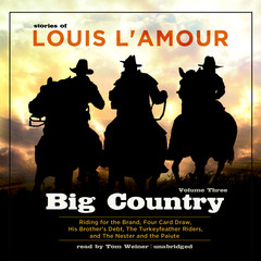Big Country, Vol. 3: Stories of Louis L'Amour Audiobook, by Louis L'Amour
