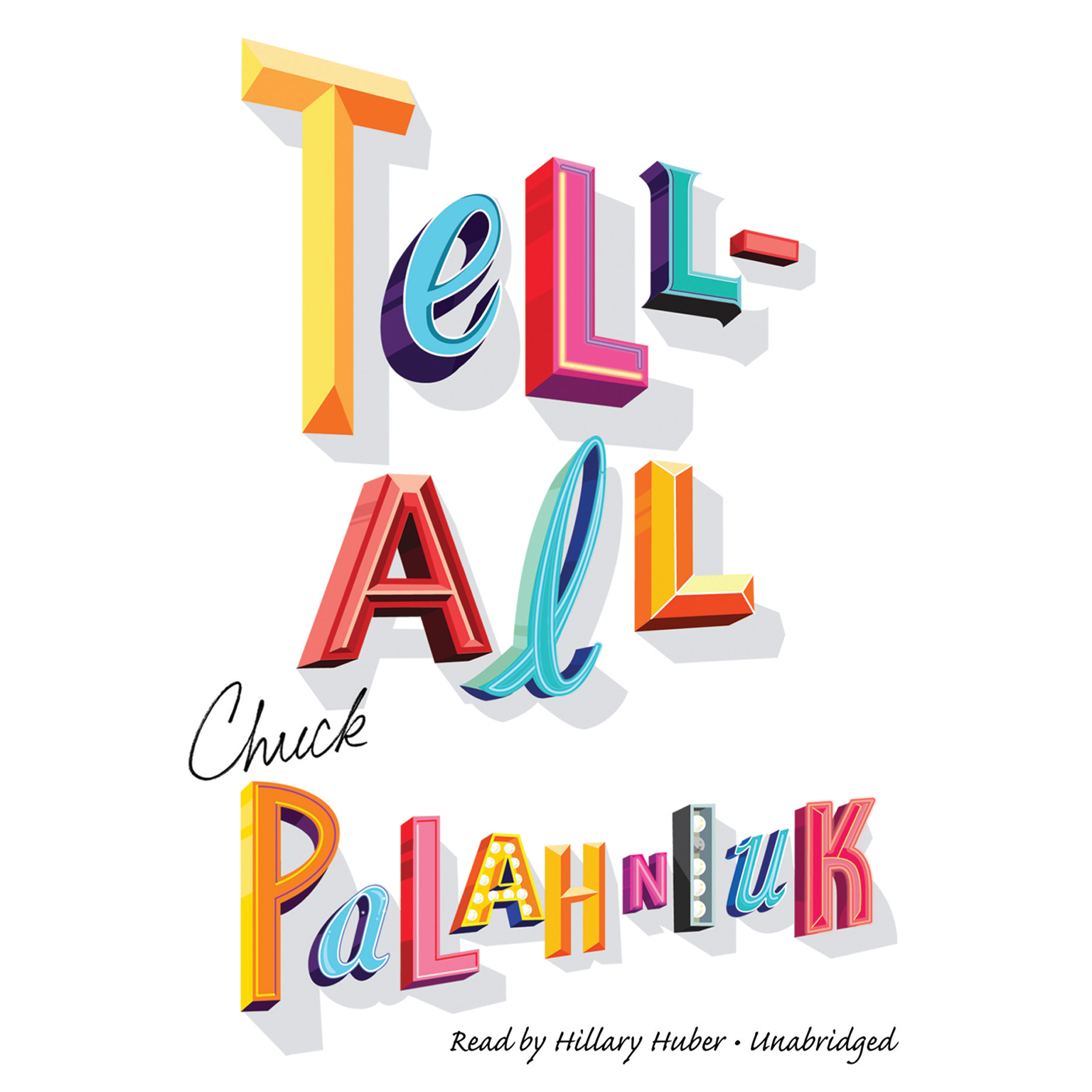 Printable Tell-All Audiobook Cover Art