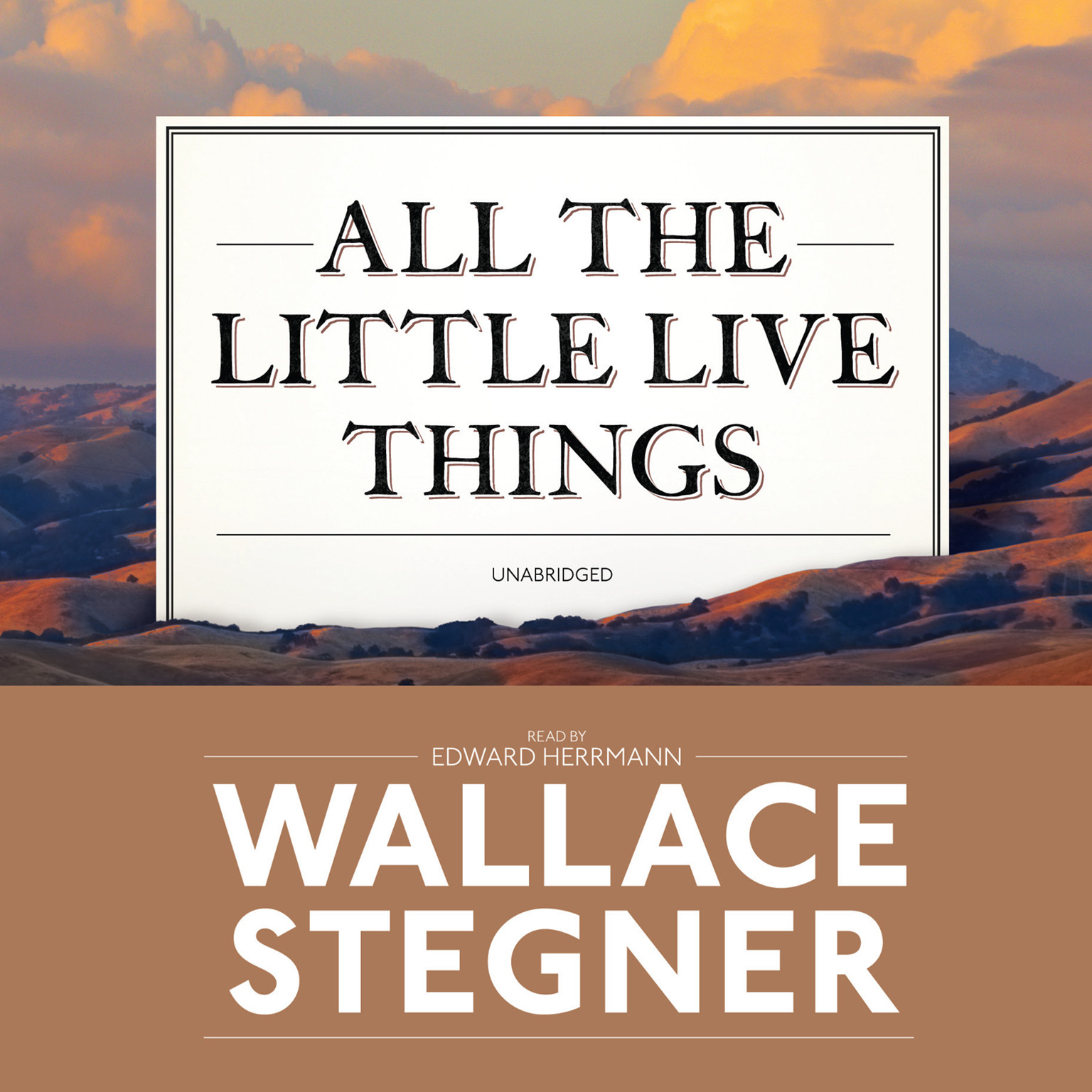 Printable All the Little Live Things Audiobook Cover Art