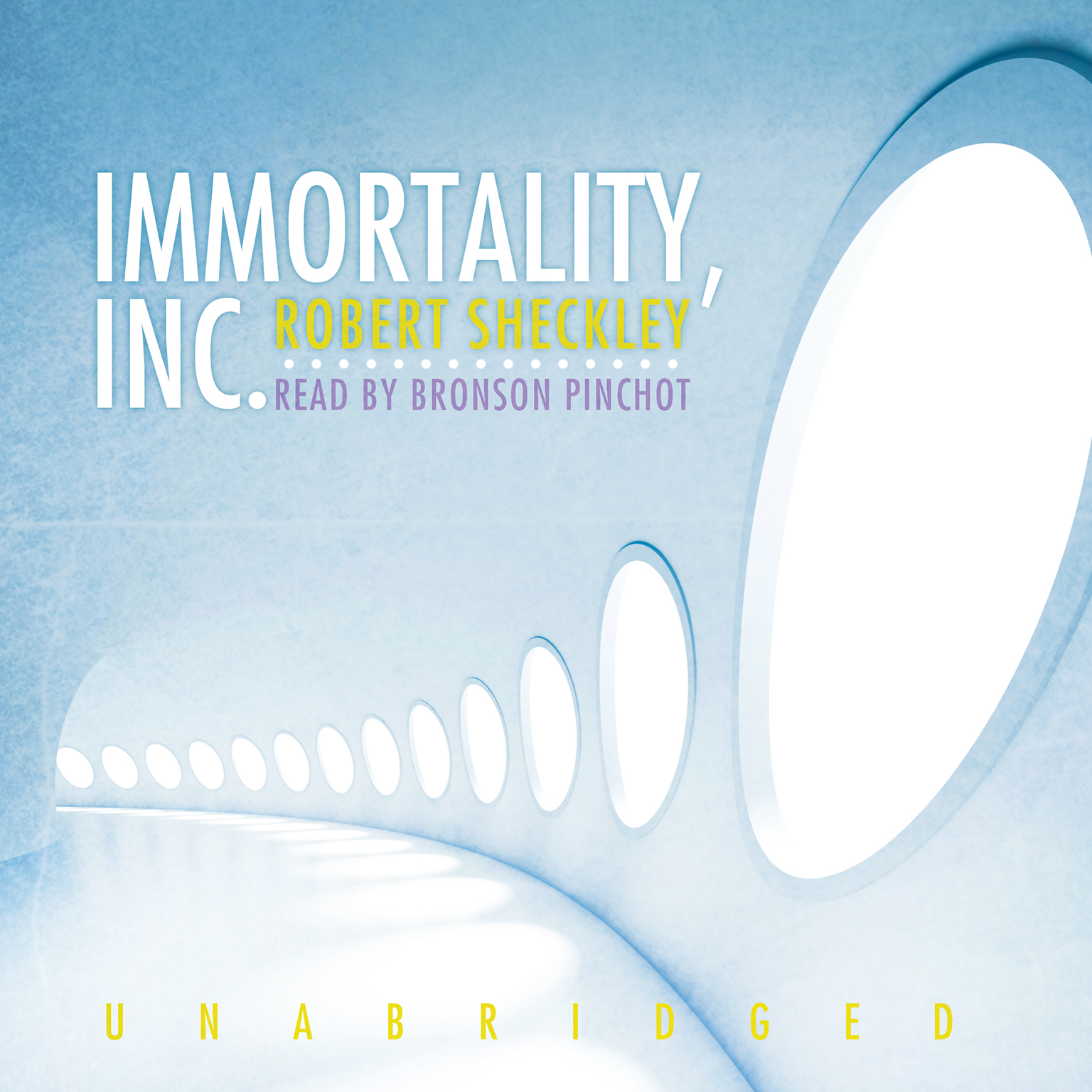 Printable Immortality, Inc. Audiobook Cover Art