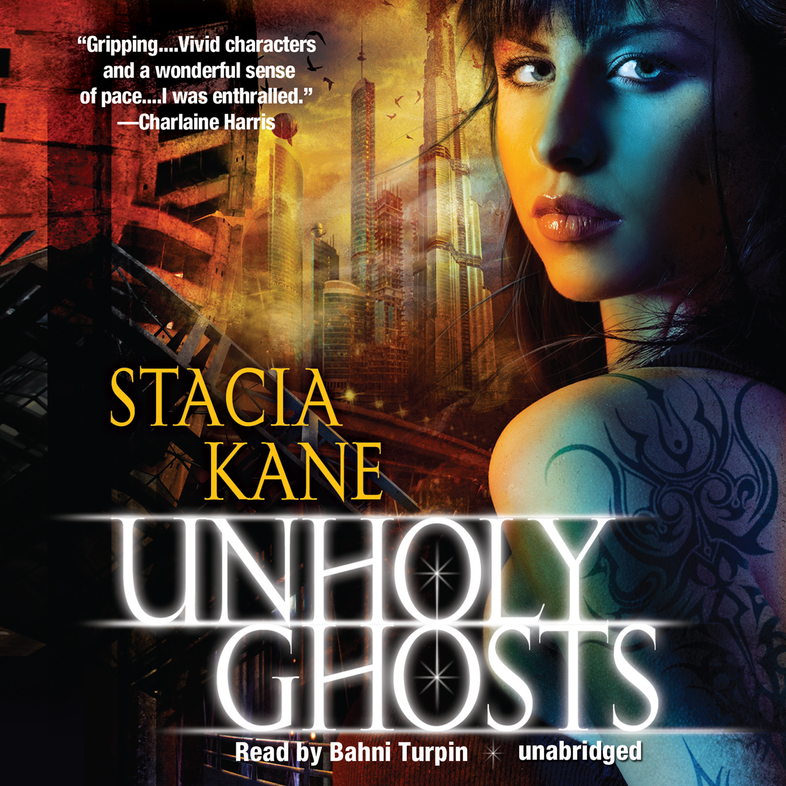 Printable Unholy Ghosts Audiobook Cover Art