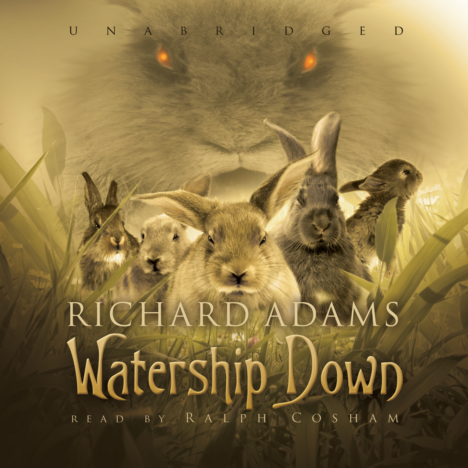 Printable Watership Down Audiobook Cover Art
